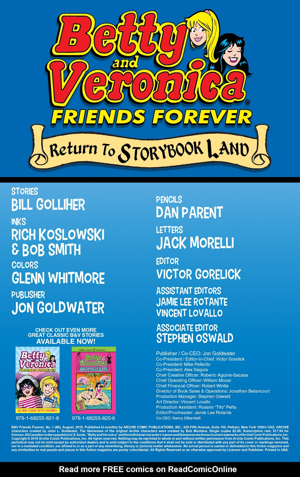 Read online Betty & Veronica Friends Forever: Return To Storybook Land comic -  Issue # Full - 2