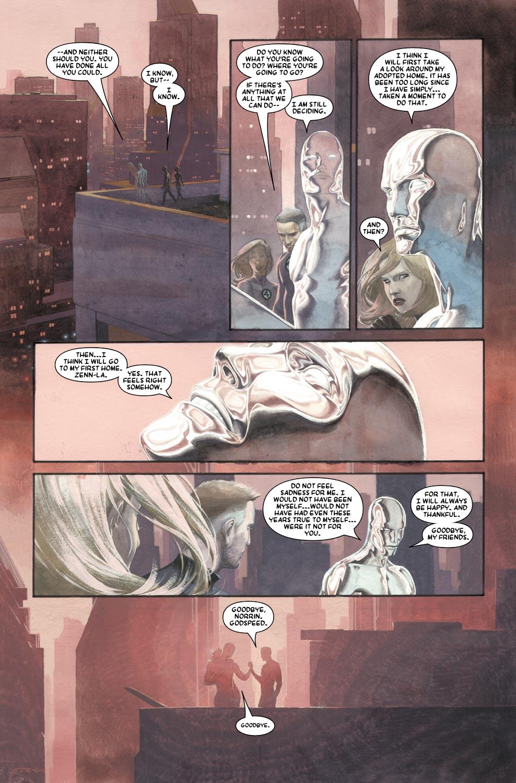 Read online Silver Surfer: Requiem comic -  Issue #1 - 20