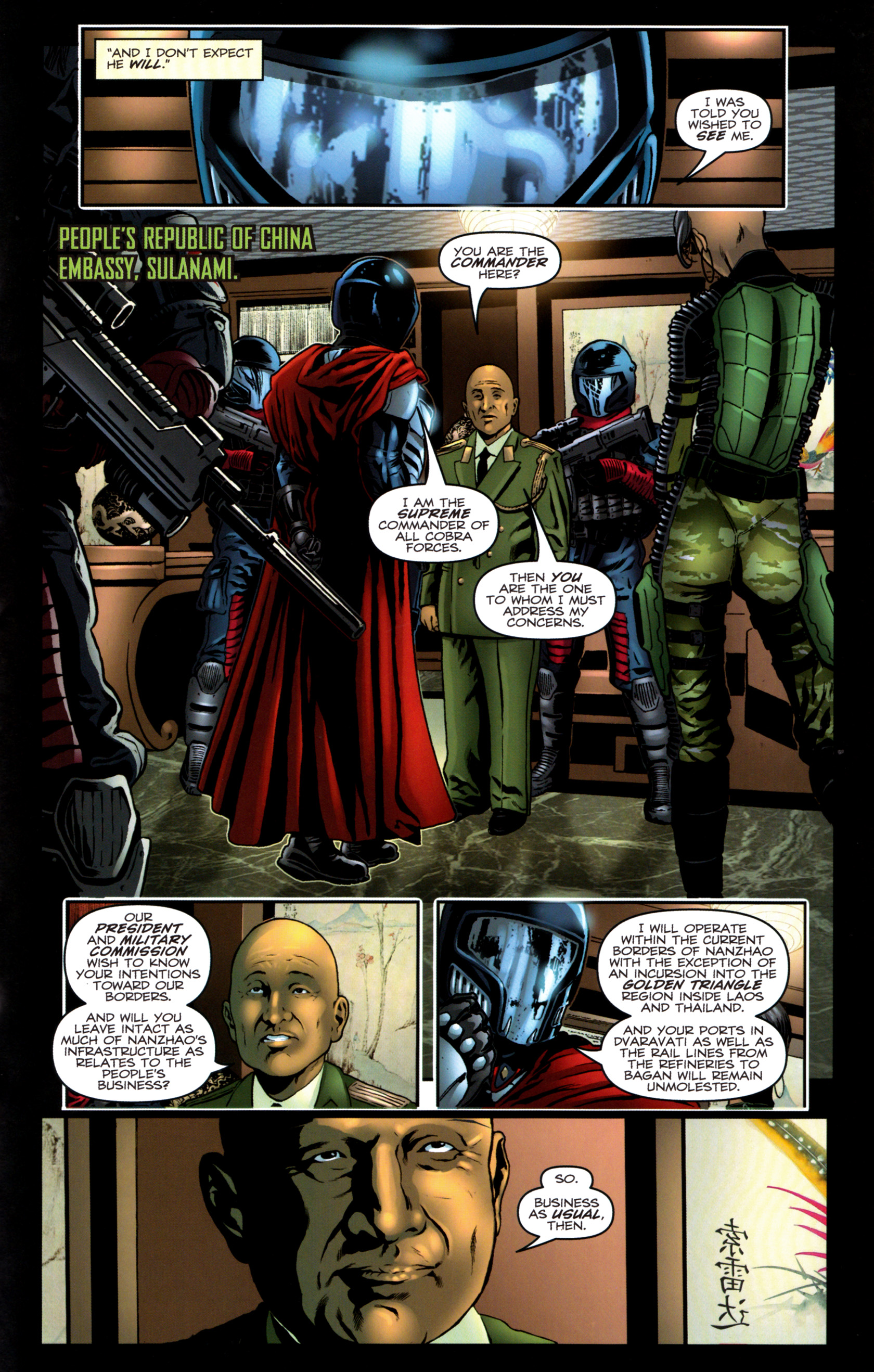 Read online G.I. Joe: Snake Eyes comic -  Issue #9 - 24