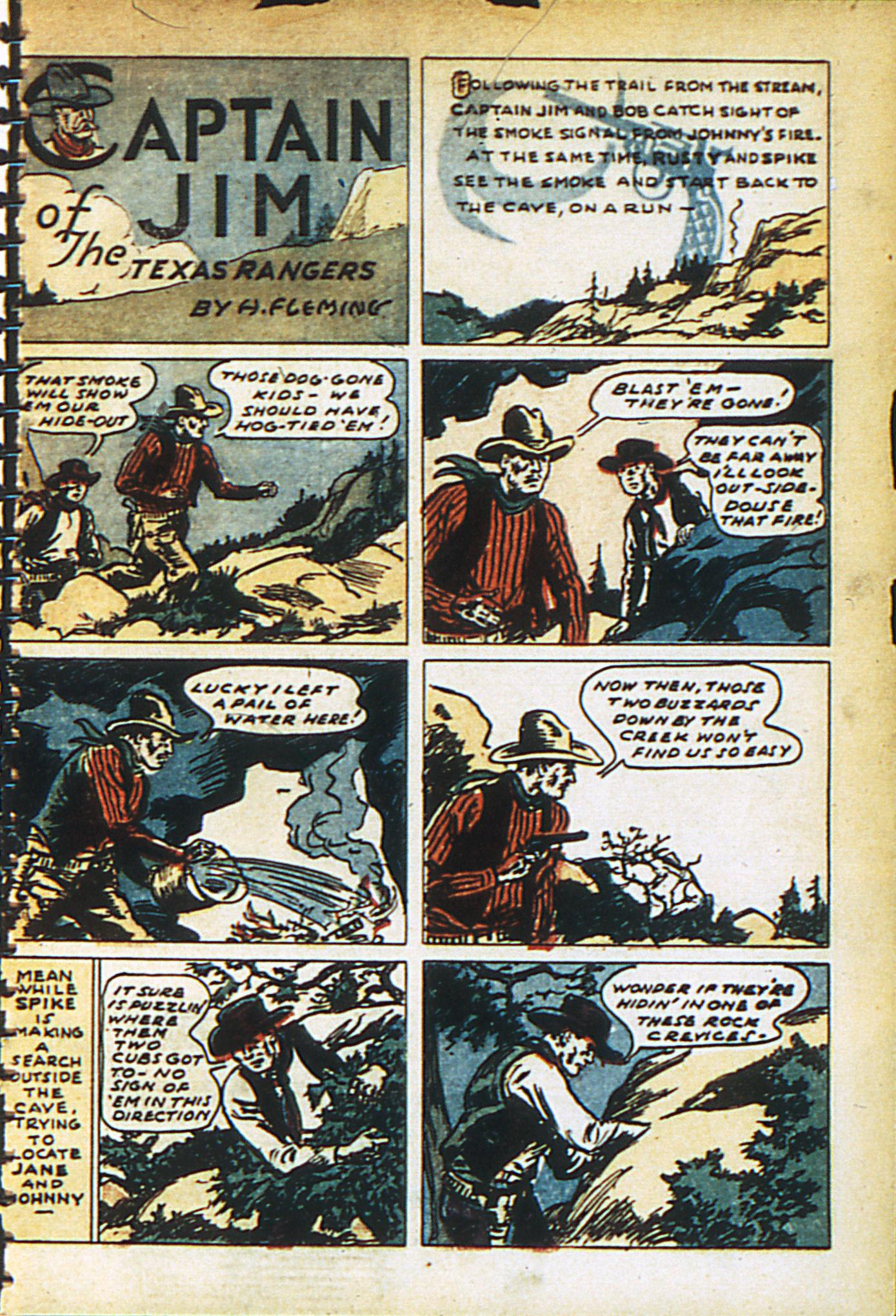 Read online Adventure Comics (1938) comic -  Issue #27 - 3