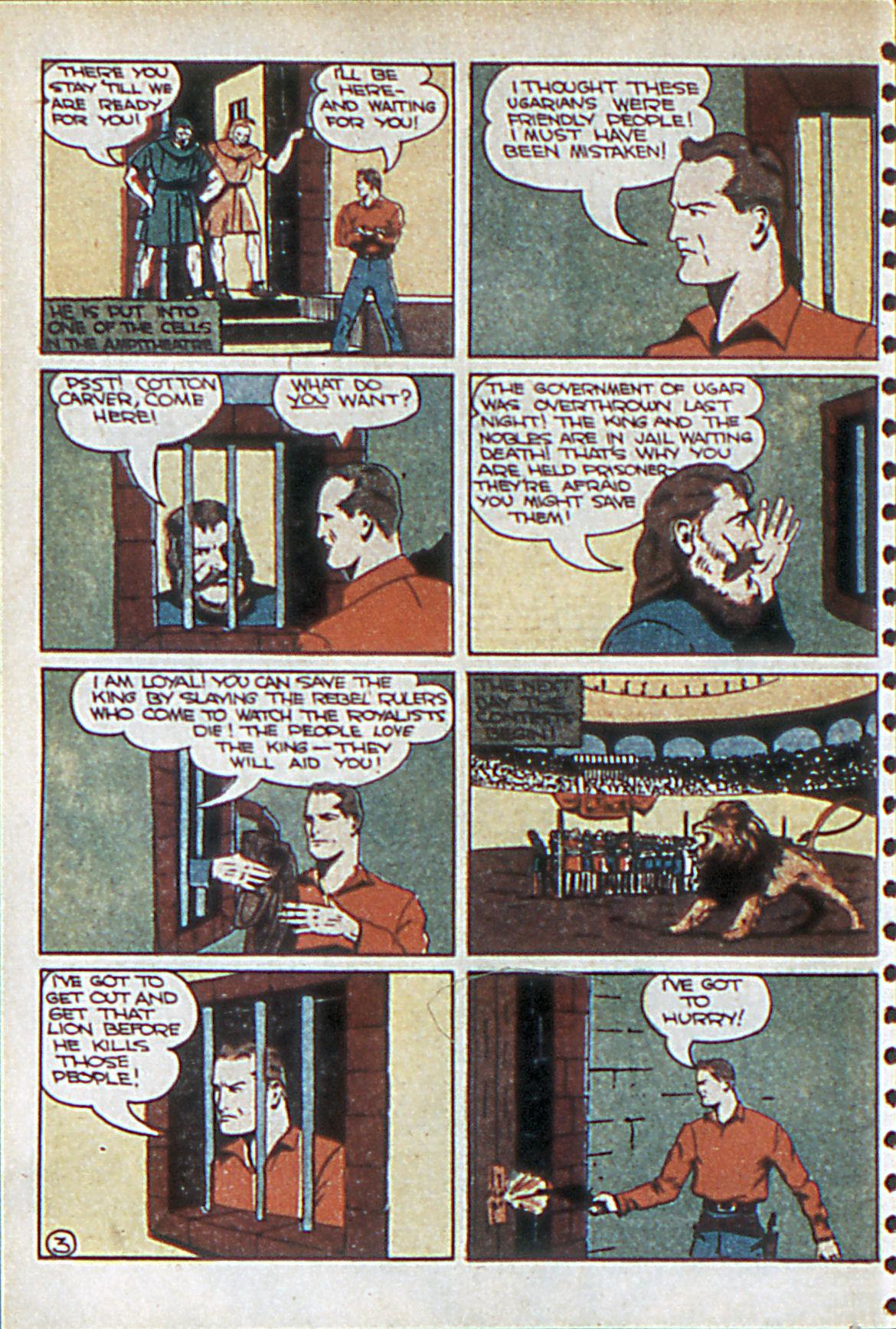 Read online Adventure Comics (1938) comic -  Issue #55 - 35