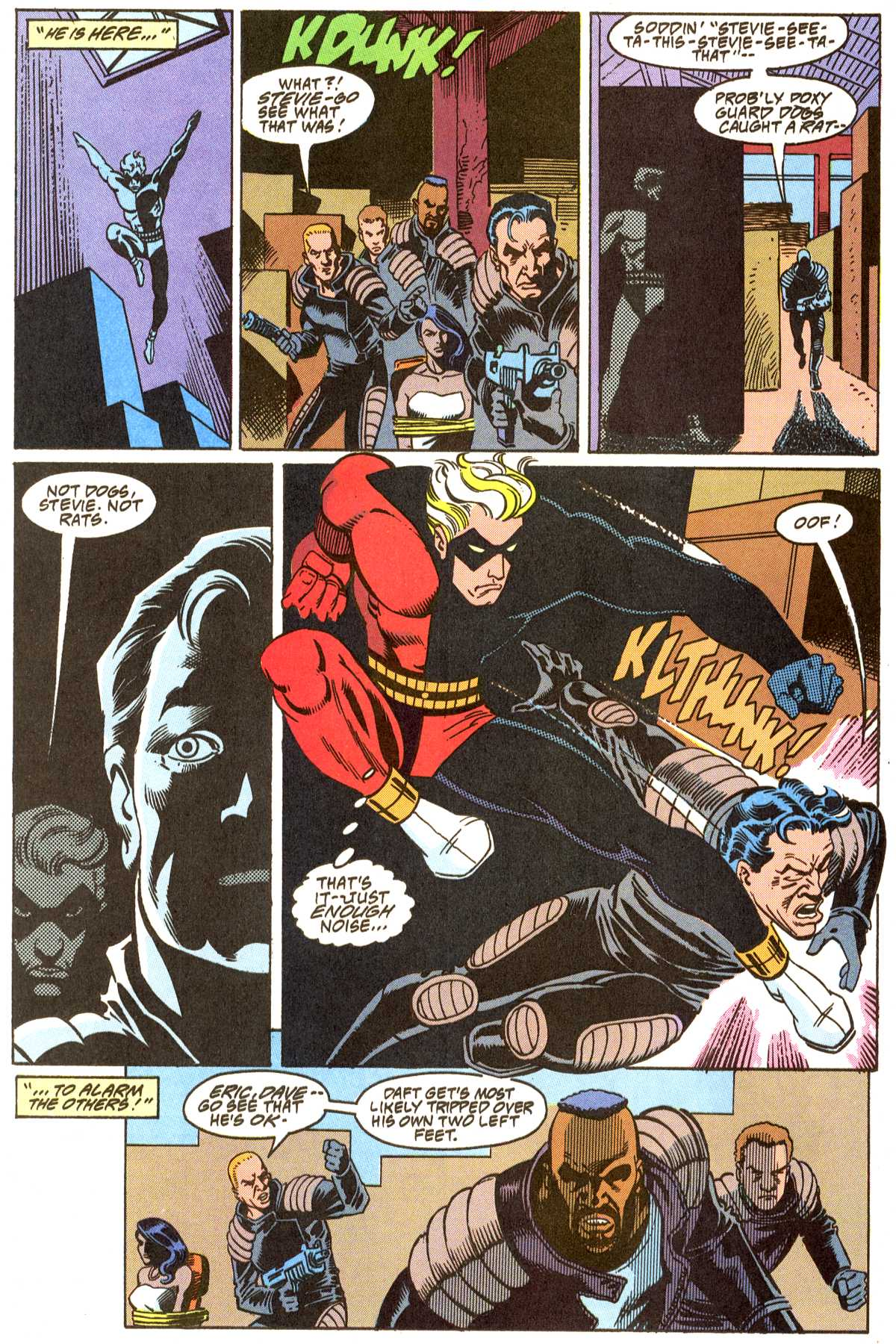 Read online Peter Cannon--Thunderbolt (1992) comic -  Issue #8 - 19