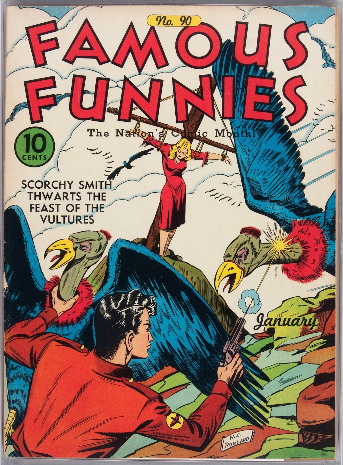 Read online Famous Funnies comic -  Issue #90 - 1