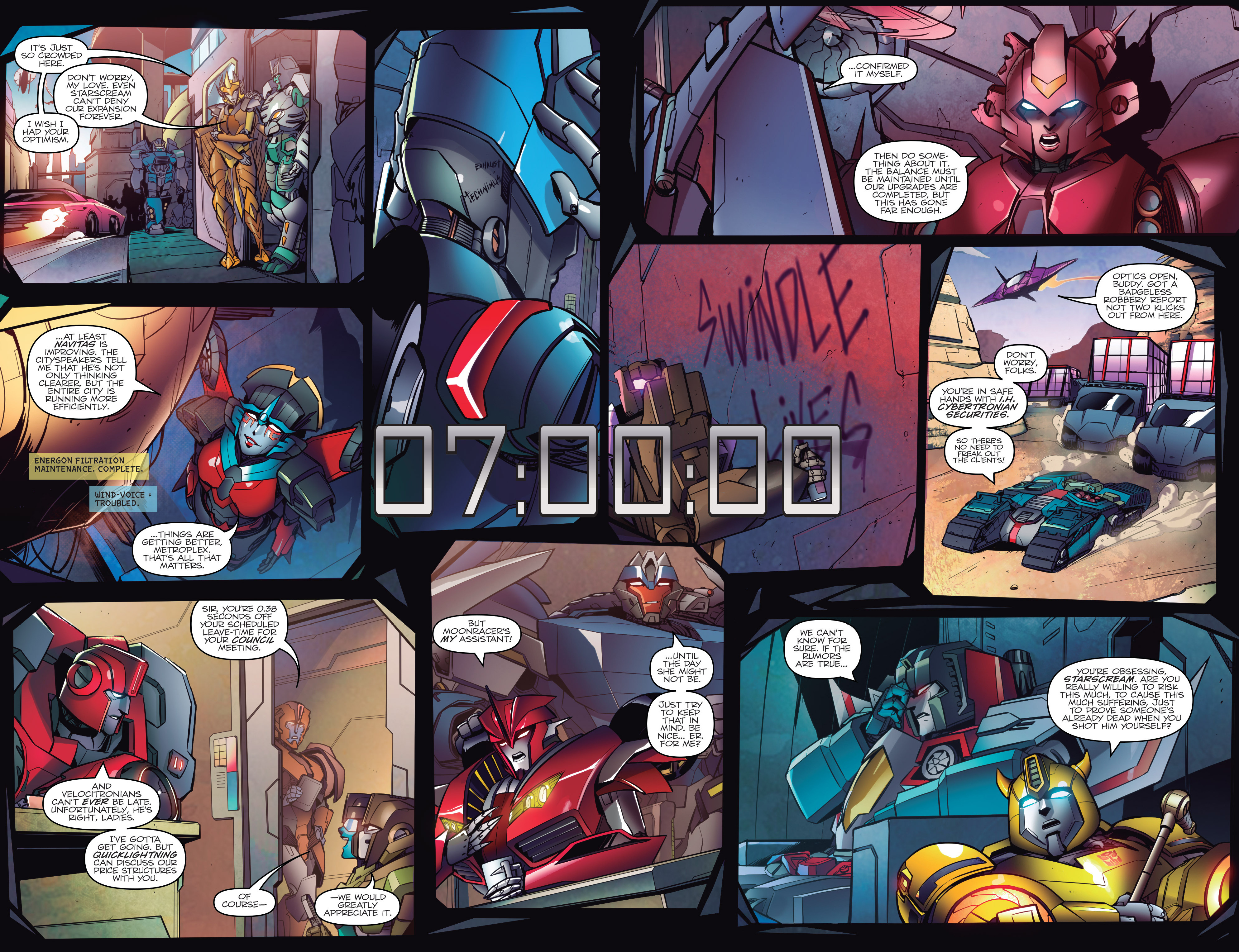 Read online Transformers: Till All Are One comic -  Issue #1 - 4