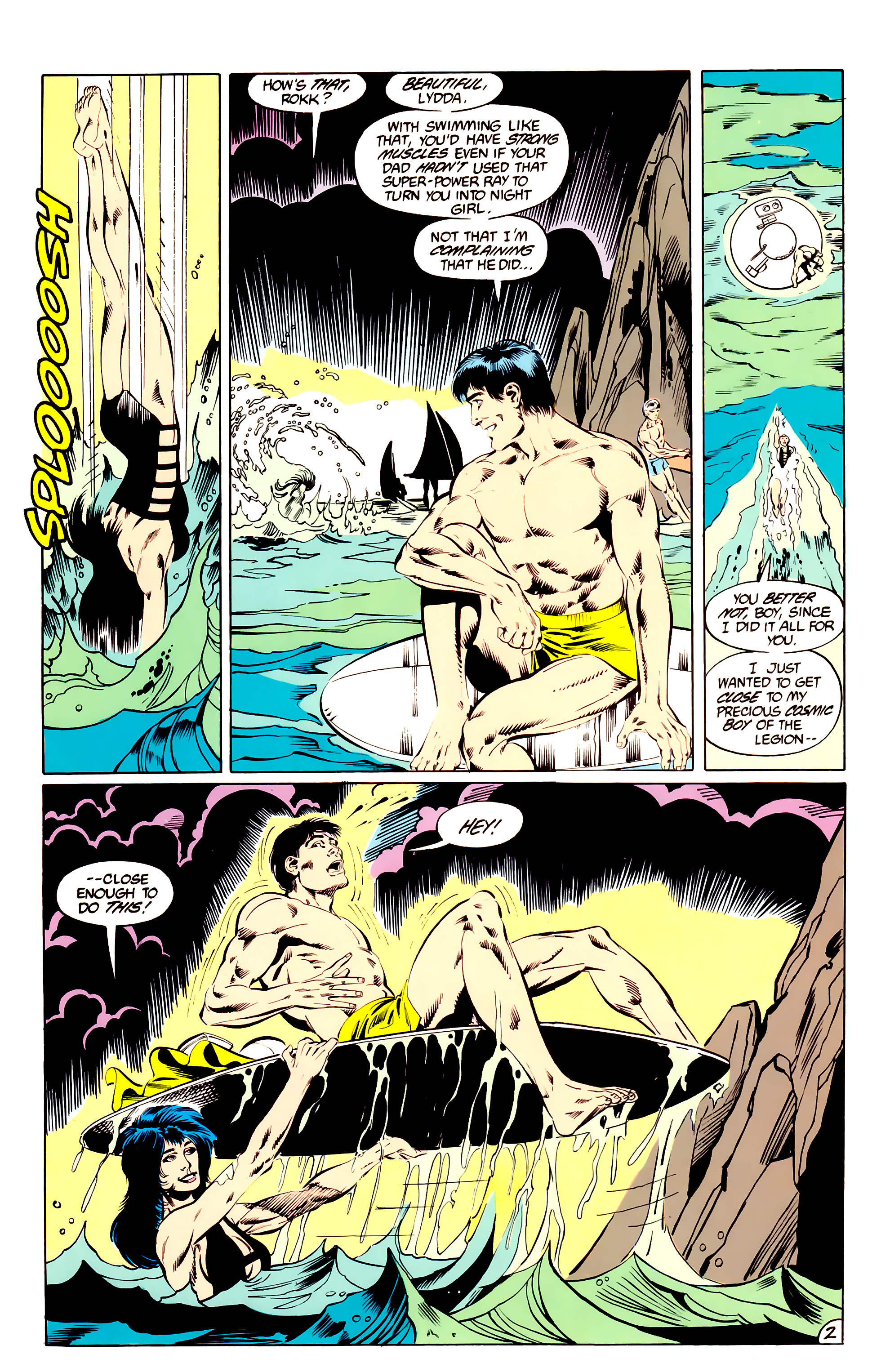 Legion of Super-Heroes (1984) _Annual_3 Page 2