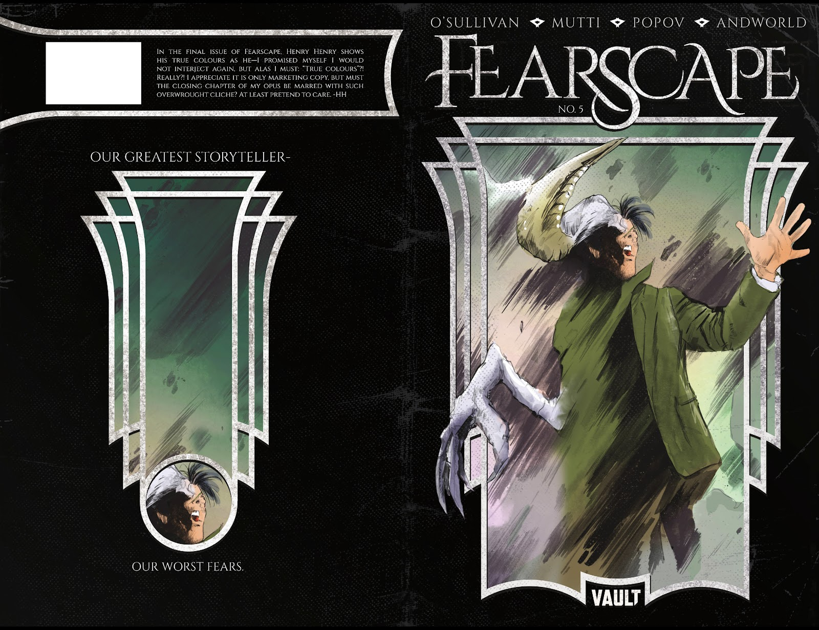 Read online Fearscape comic -  Issue #5 - 1