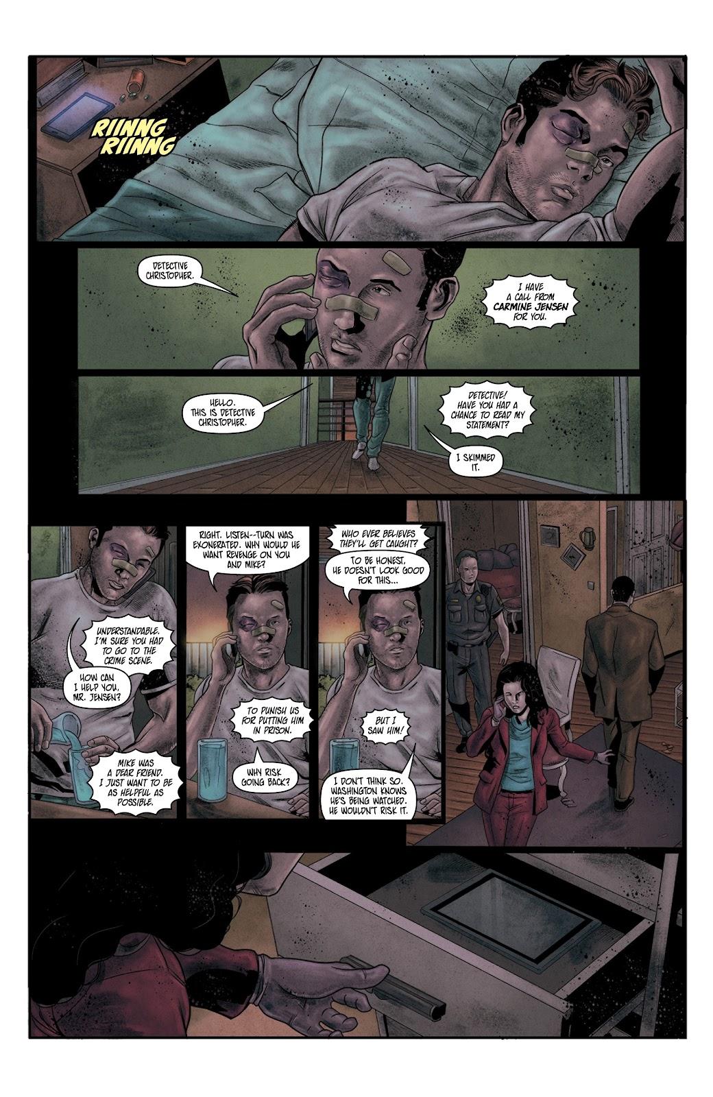 Read online Vindication comic -  Issue #4 - 9