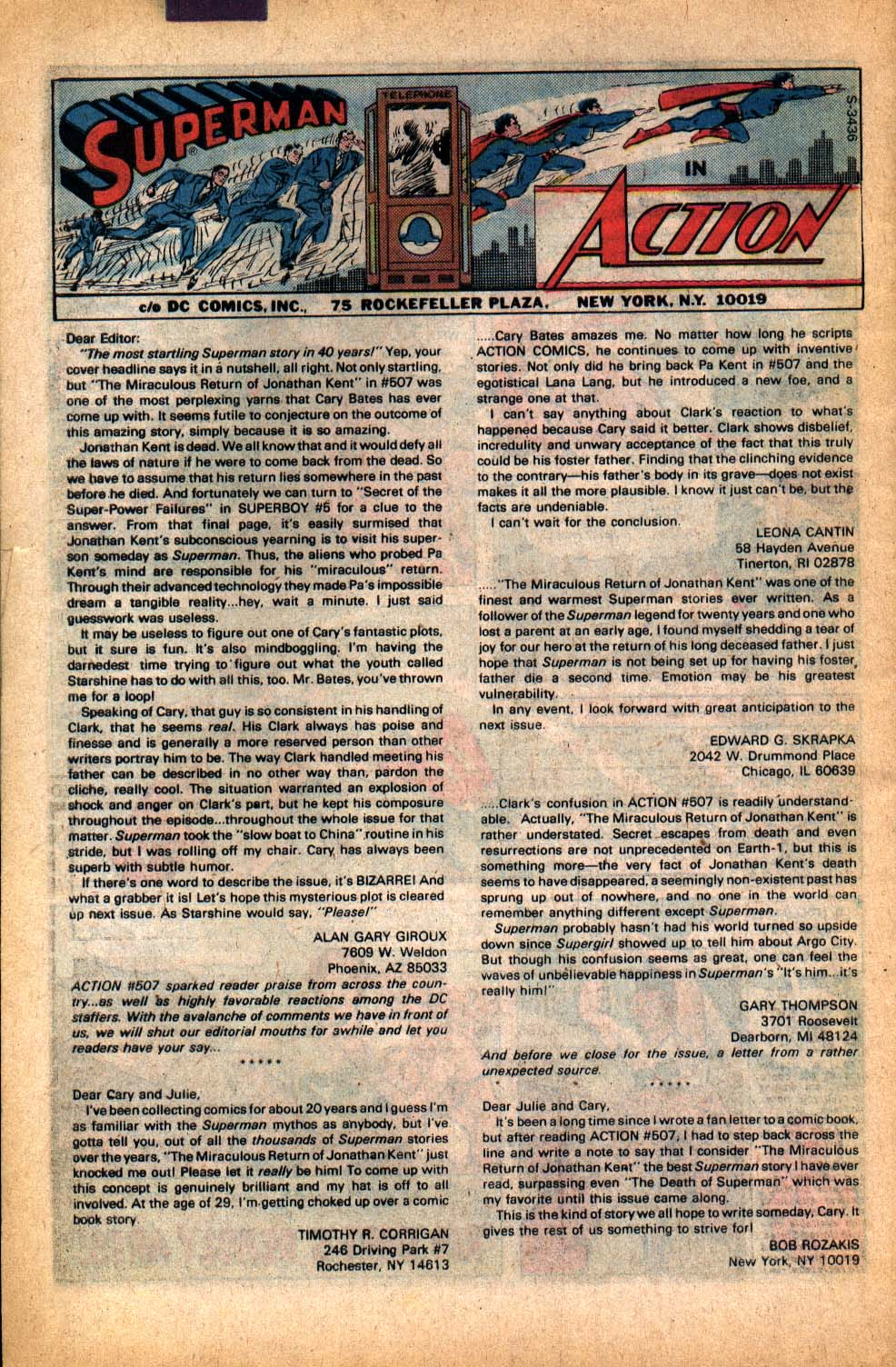 Read online Action Comics (1938) comic -  Issue #512 - 34