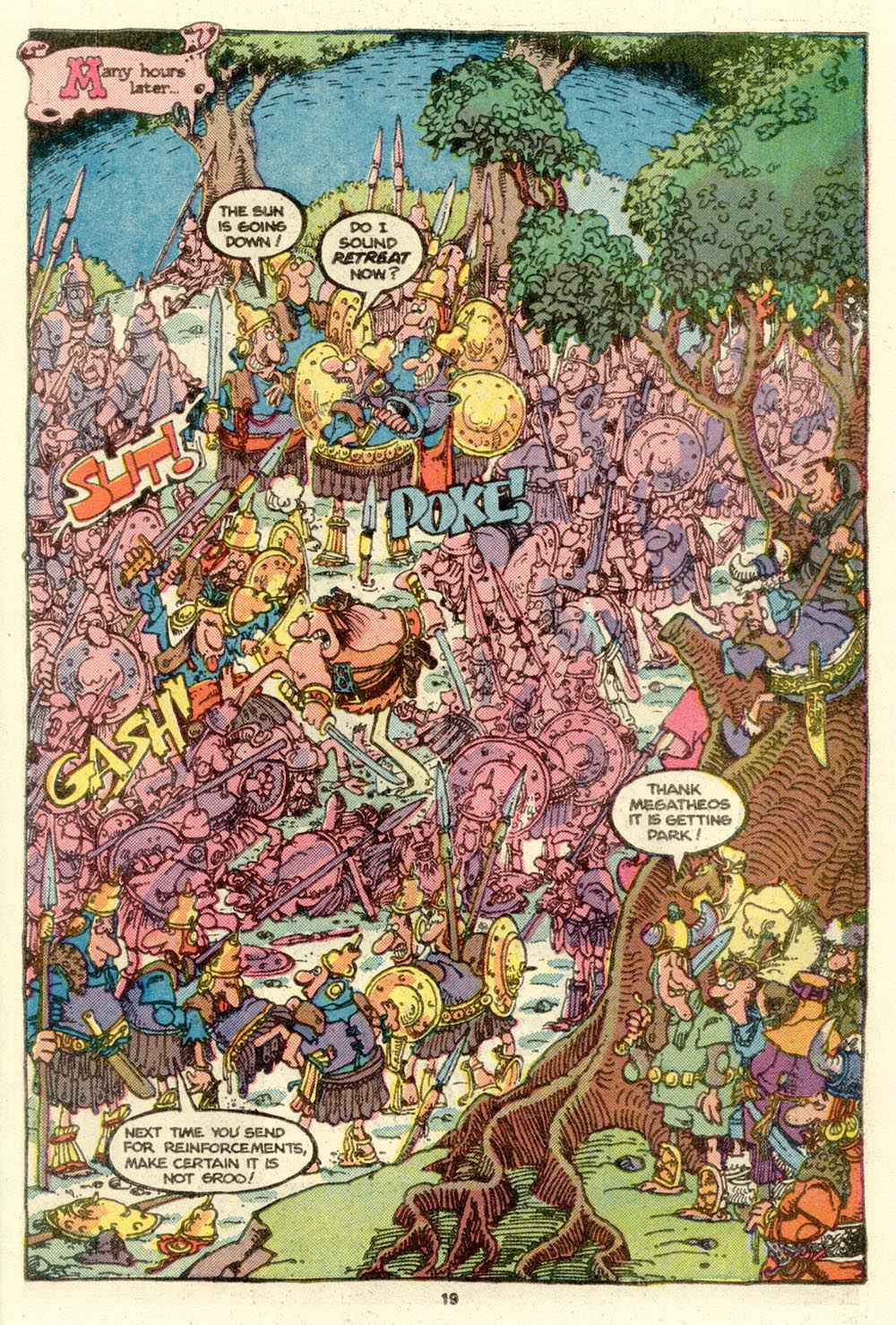 Read online Sergio Aragonés Groo the Wanderer comic -  Issue #16 - 19
