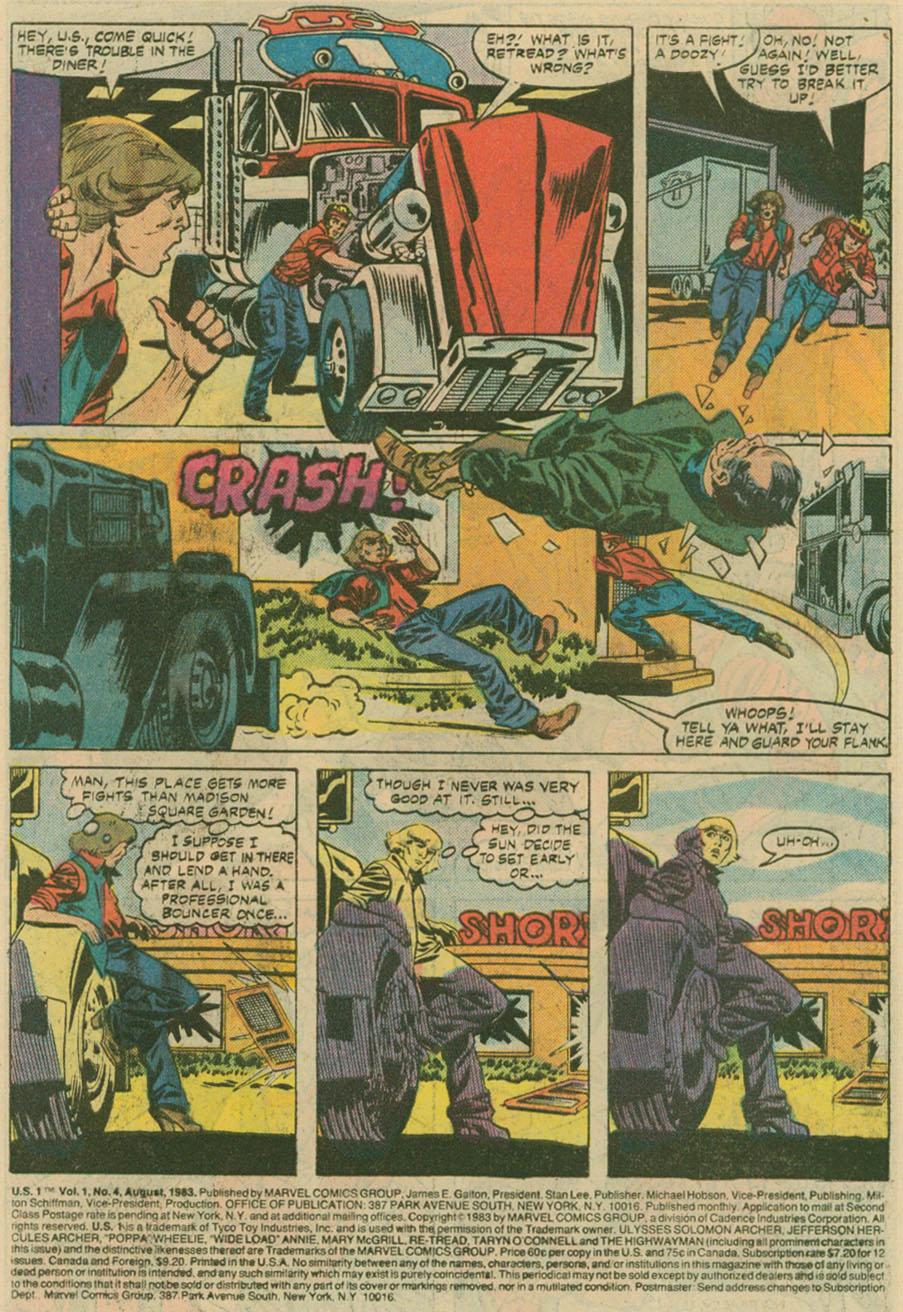 Read online U.S. 1 comic -  Issue #4 - 2