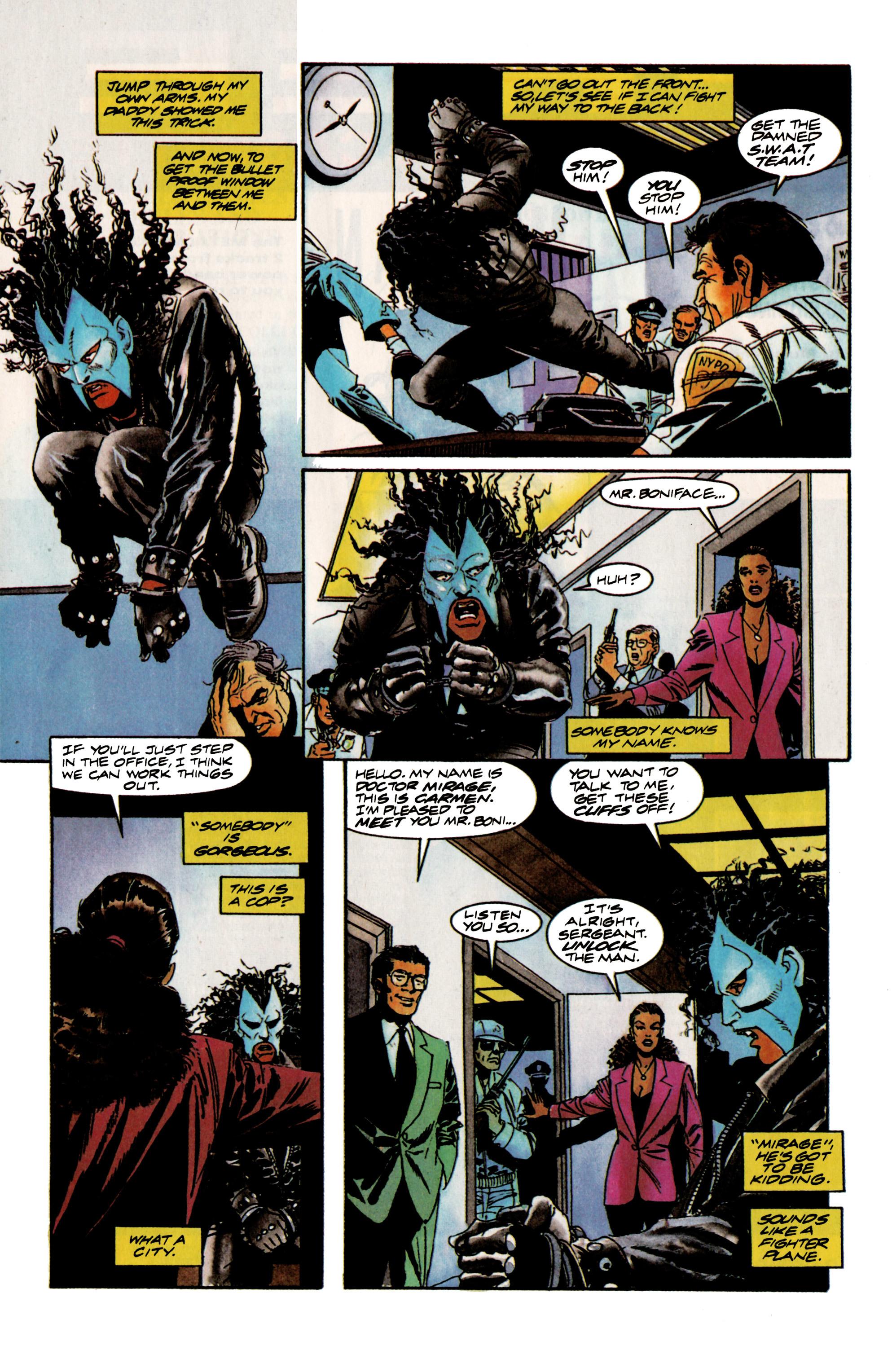 Read online Shadowman (1992) comic -  Issue #16 - 8