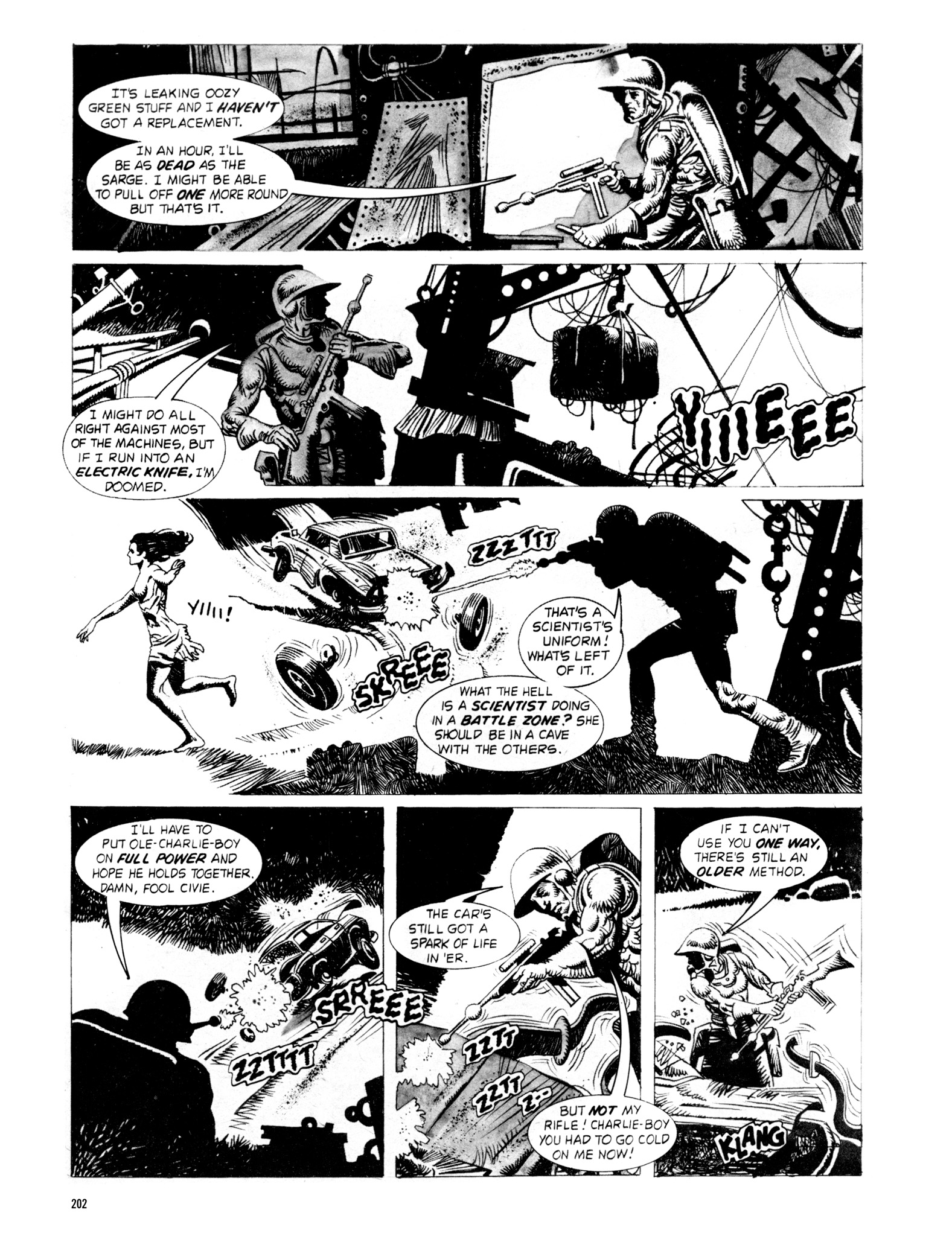 Read online Eerie Archives comic -  Issue # TPB 18 - 199