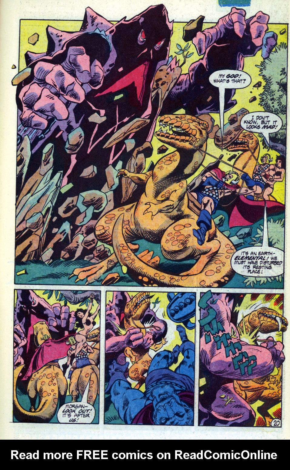 Warlord (1976) issue 92 - Page 21