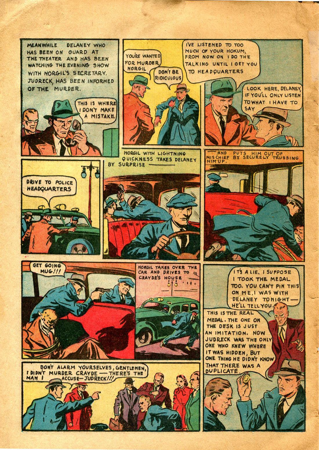 Read online Shadow Comics comic -  Issue #9 - 52