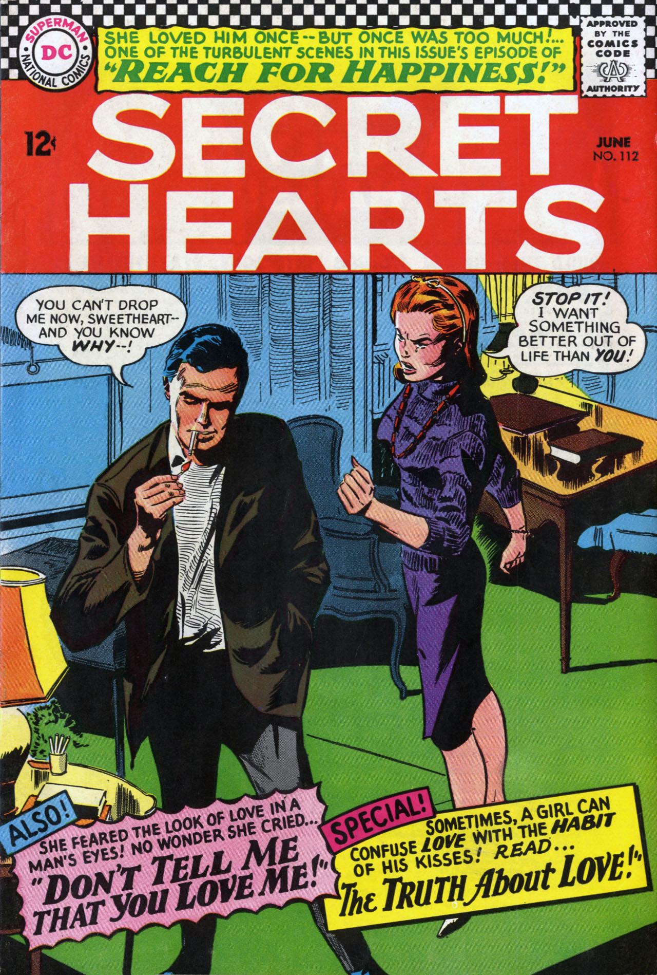 Read online Secret Hearts comic -  Issue #112 - 1