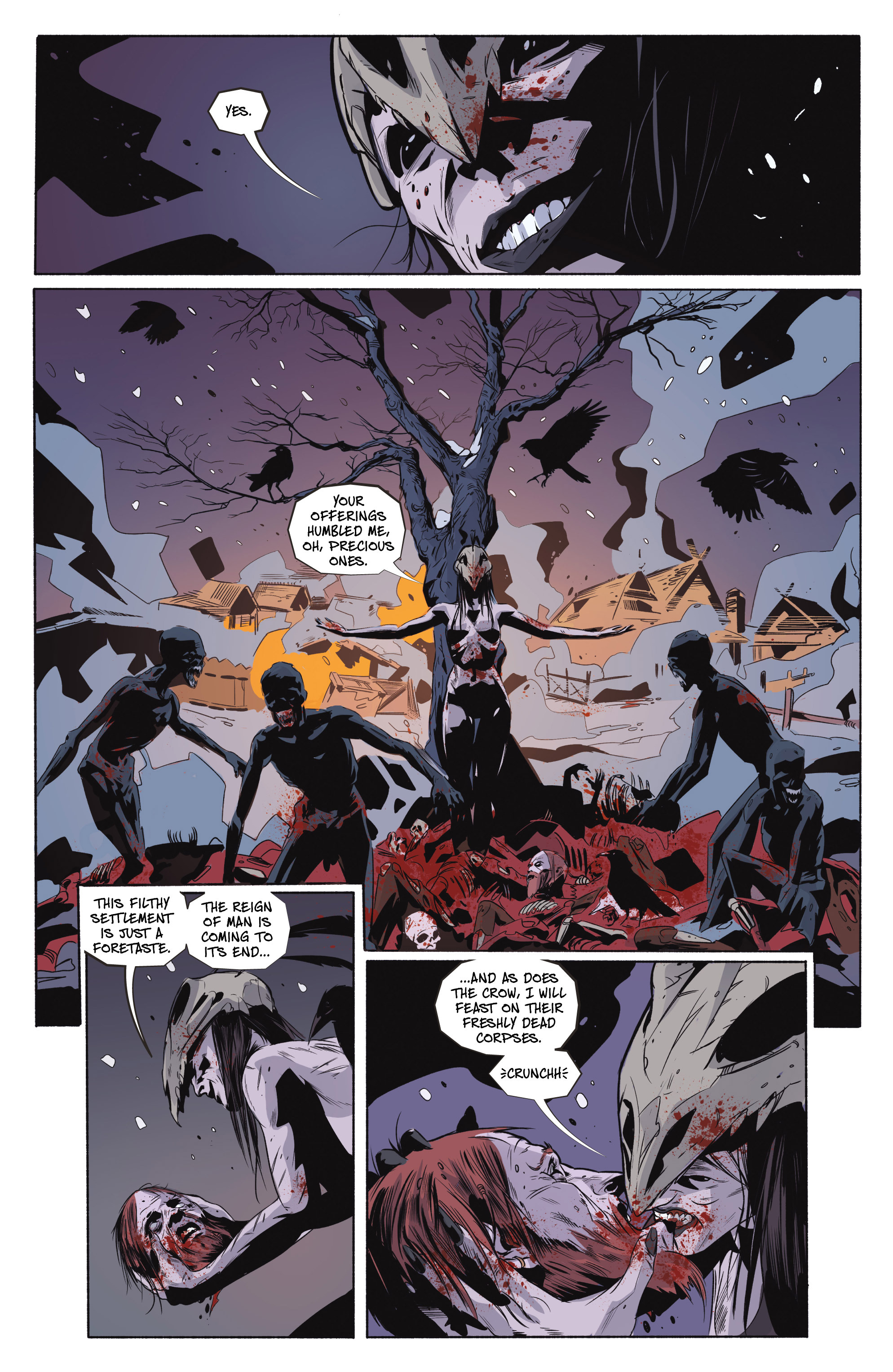 Read online Ghost Wolf comic -  Issue #4 - 12