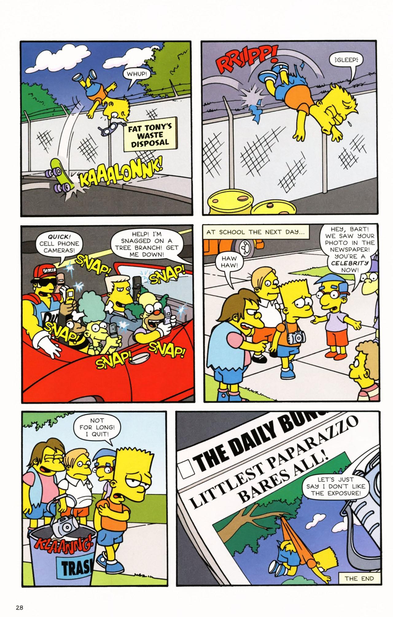 Read online Simpsons Comics Presents Bart Simpson comic -  Issue #53 - 31