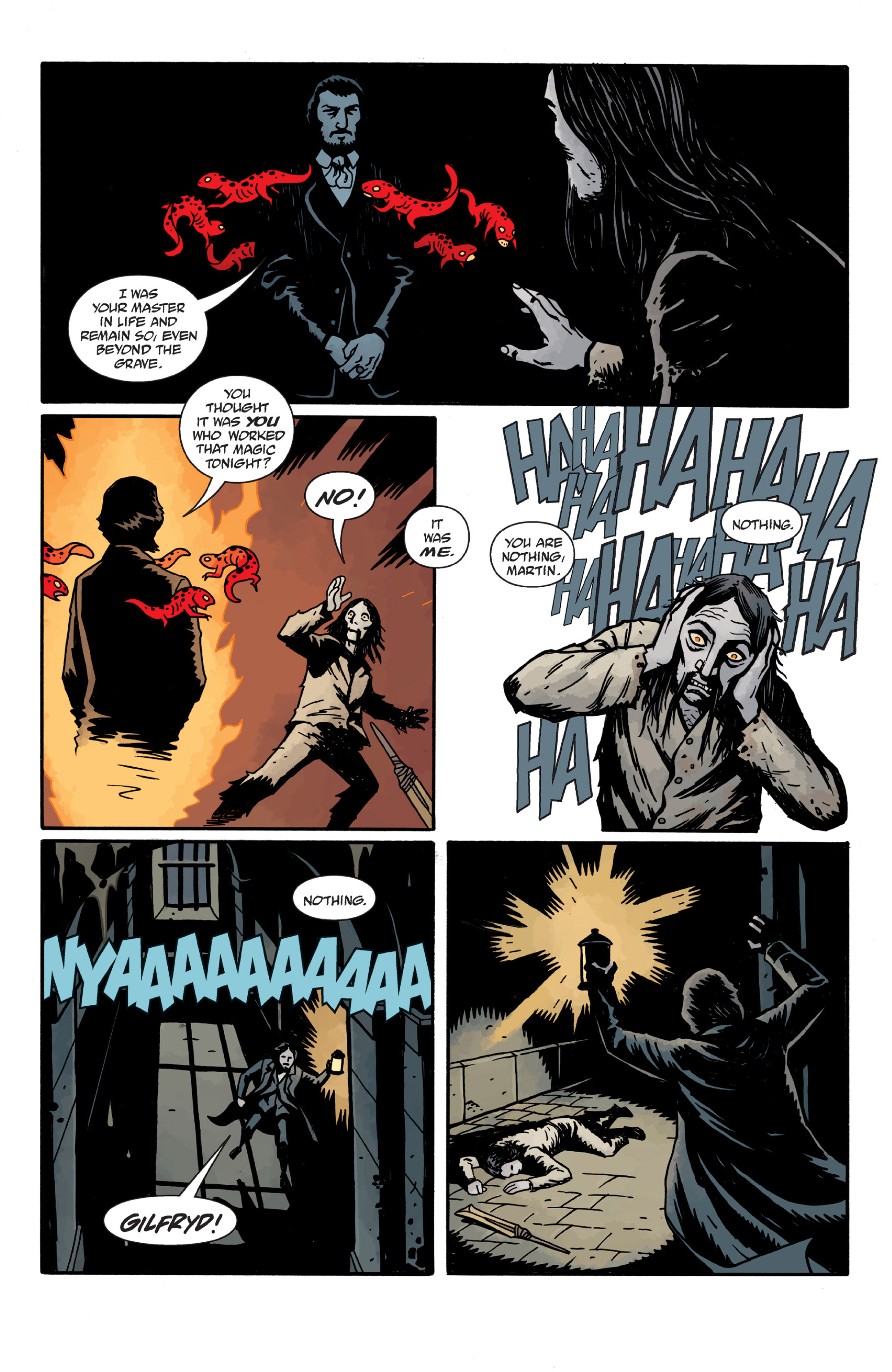 Read online Sir Edward Grey, Witchfinder: In the Service of Angels comic -  Issue # TPB - 116