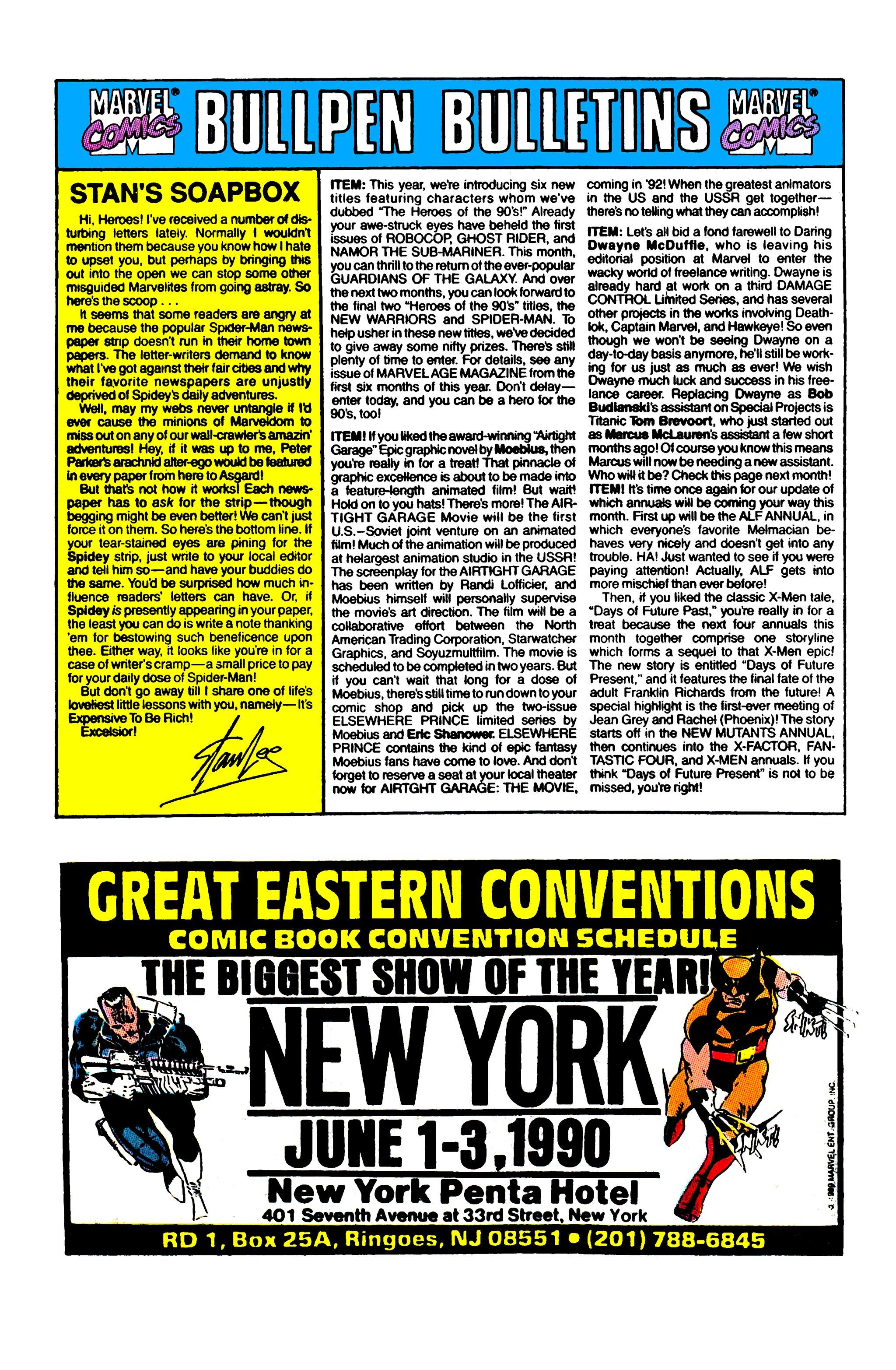 Read online Uncanny X-Men (1963) comic -  Issue #262 - 21