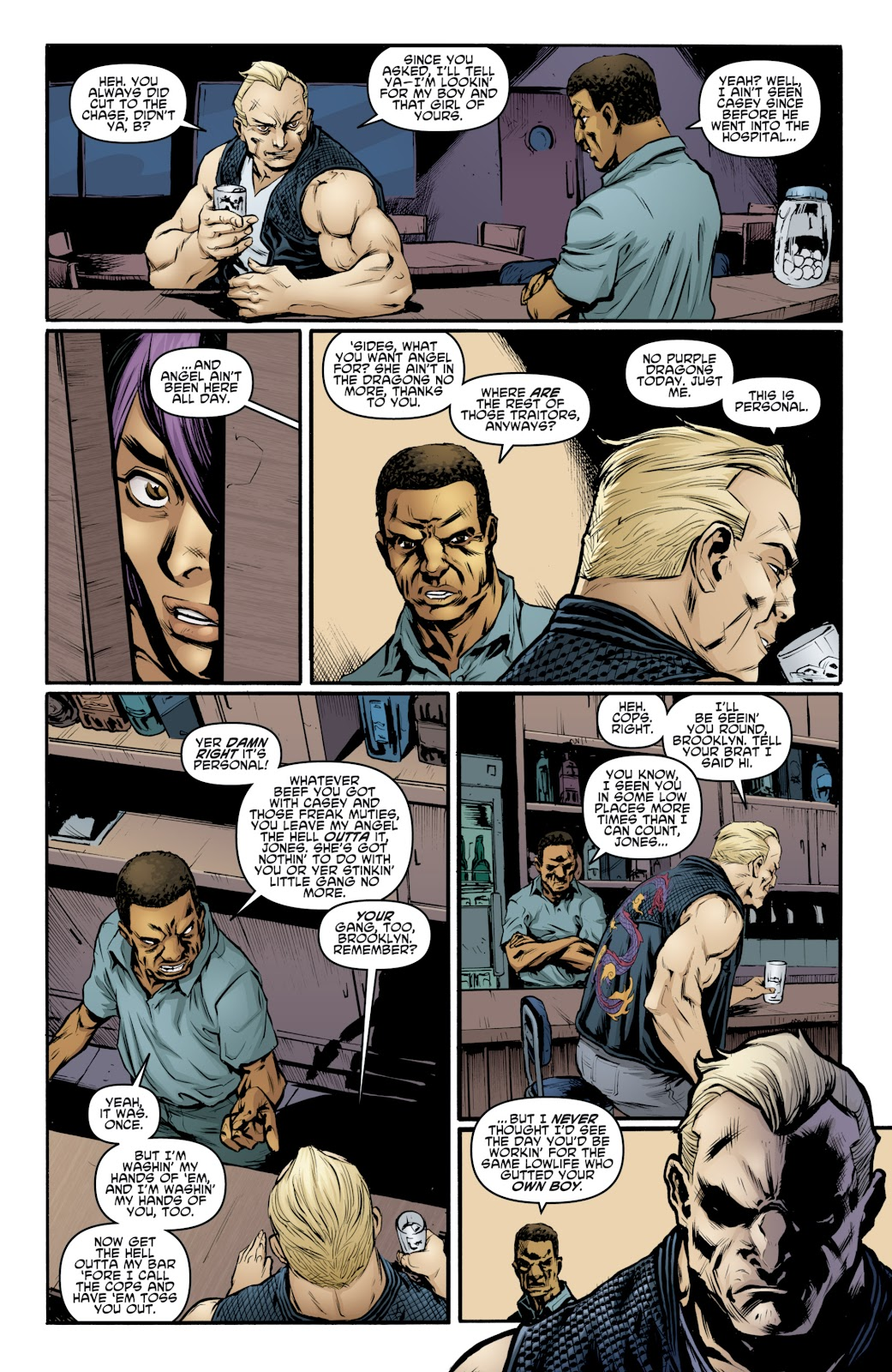 Read online Teenage Mutant Ninja Turtles: The IDW Collection comic -  Issue # TPB 4 (Part 3) - 22