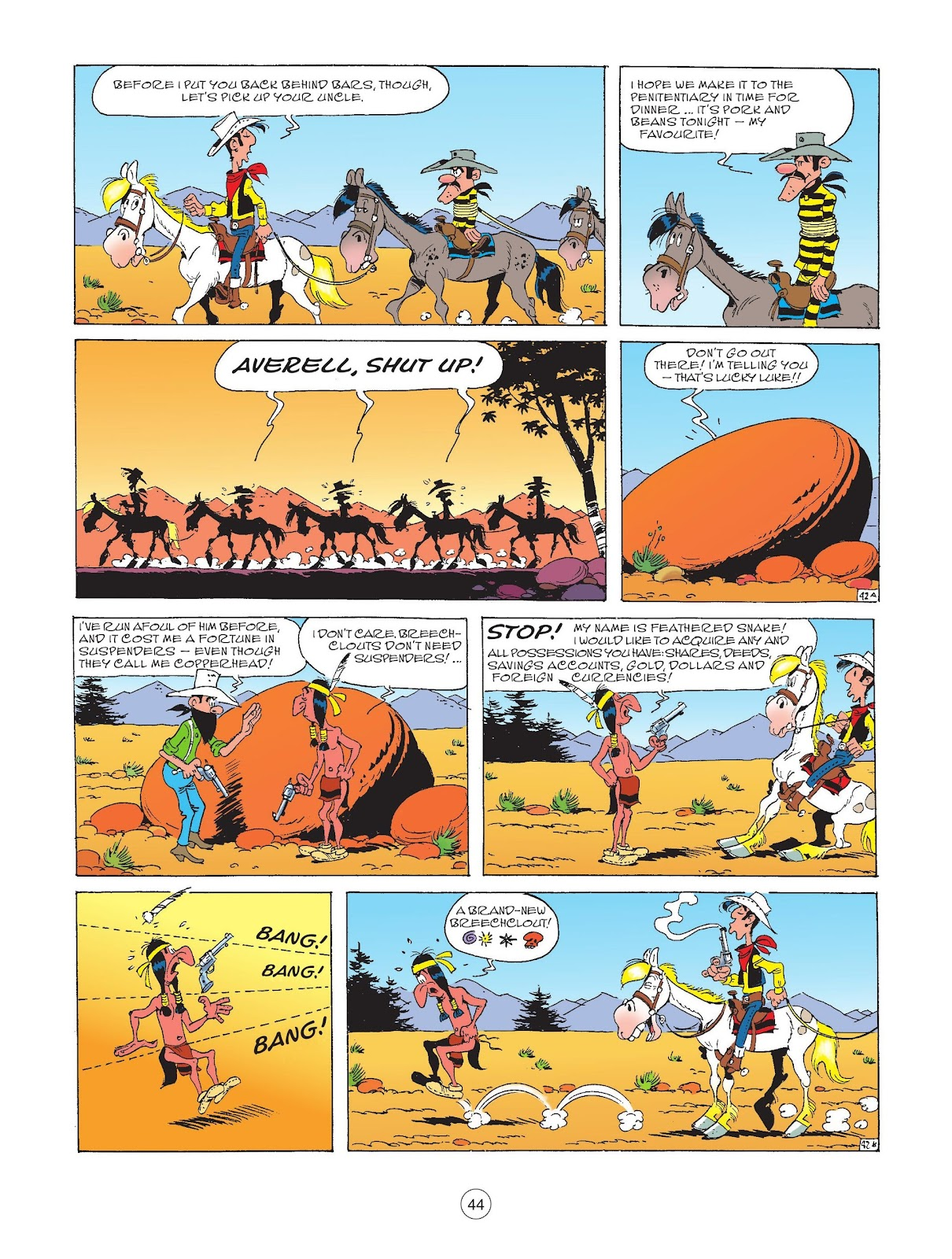 A Lucky Luke Adventure issue 72 - Page 46