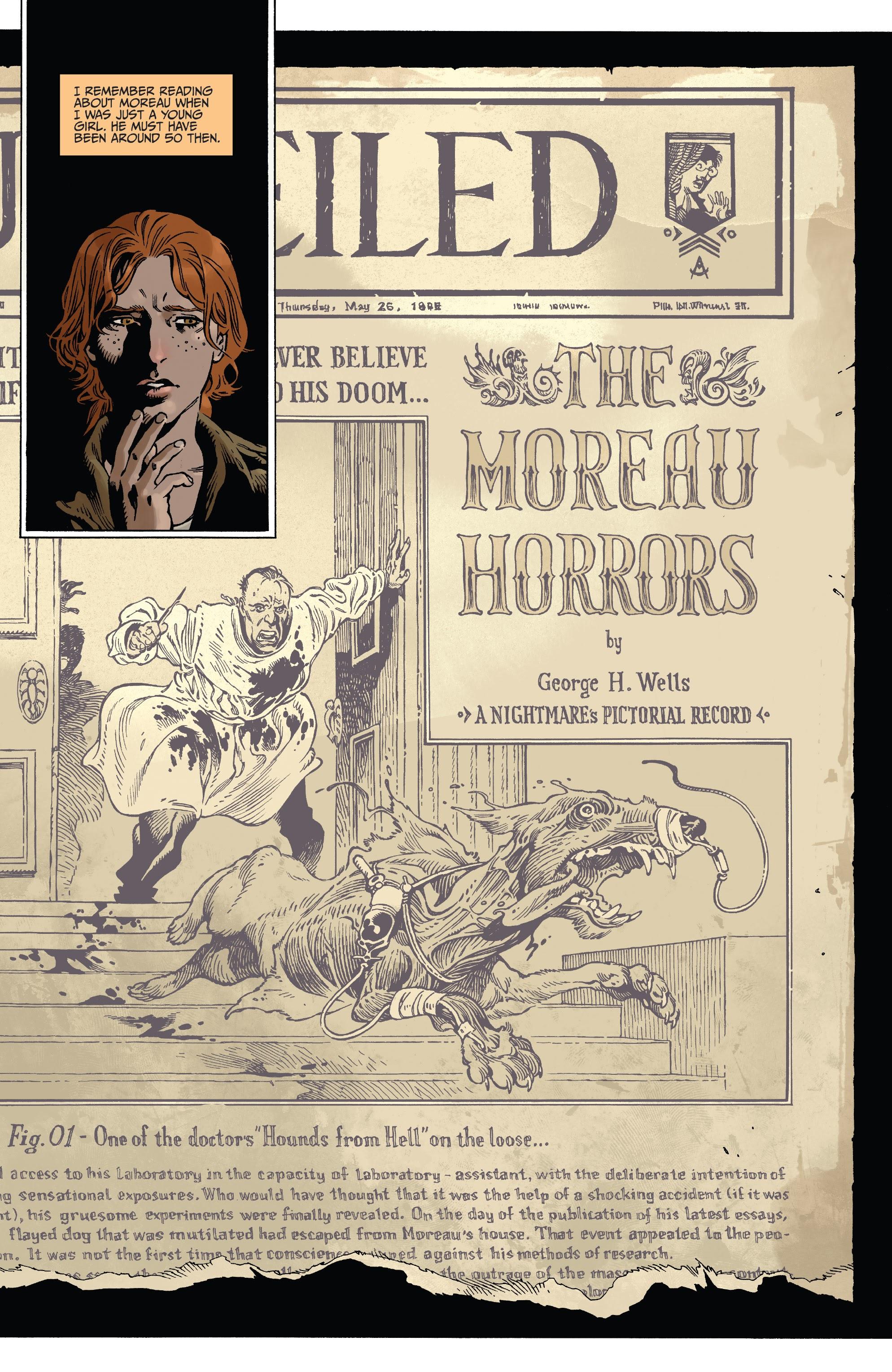 The Island of Dr. Moreau #1 #1 - English 6