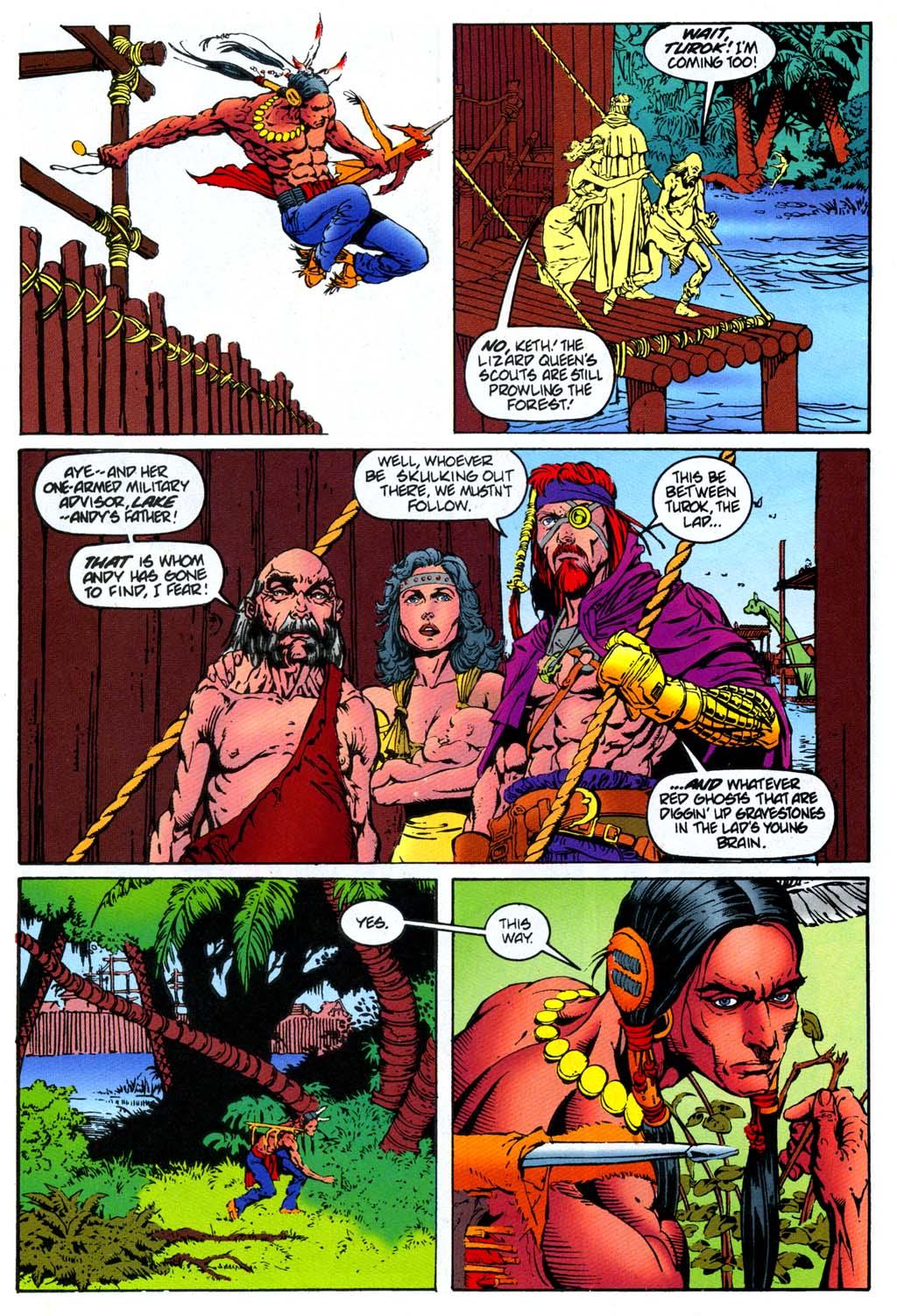 Read online Turok, Dinosaur Hunter (1993) comic -  Issue #47 - 7