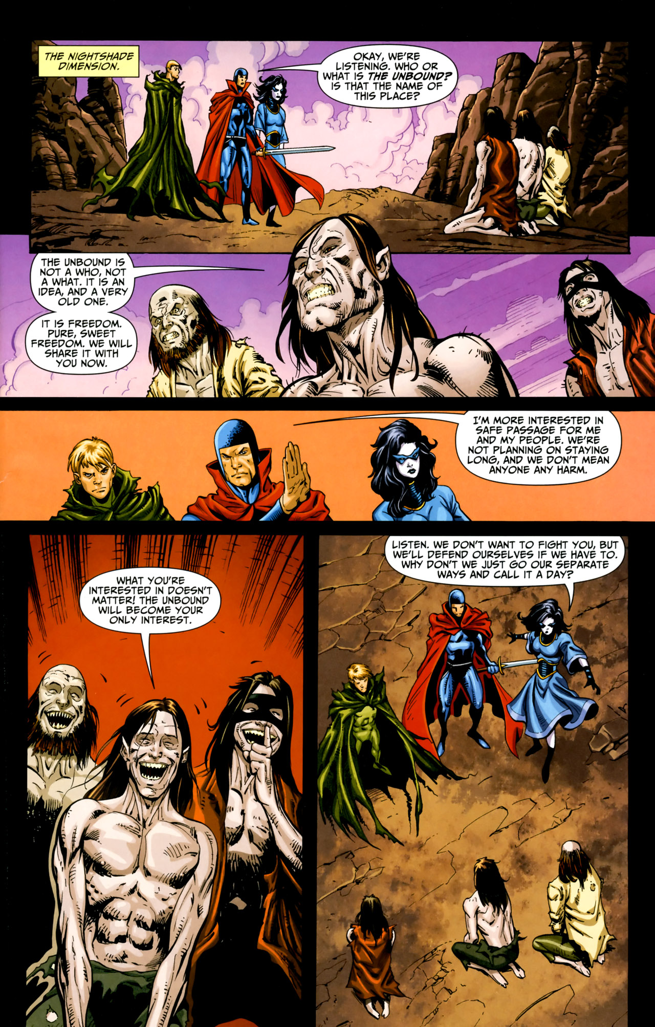 Read online Shadowpact comic -  Issue #18 - 8