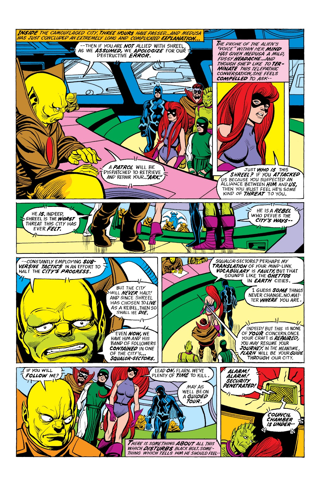 Read online Marvel Masterworks: The Inhumans comic -  Issue # TPB 2 (Part 2) - 28