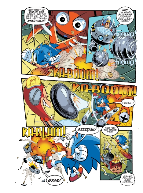 Read online Sonic Comics Spectacular: Speed of Sound comic -  Issue # Full - 257