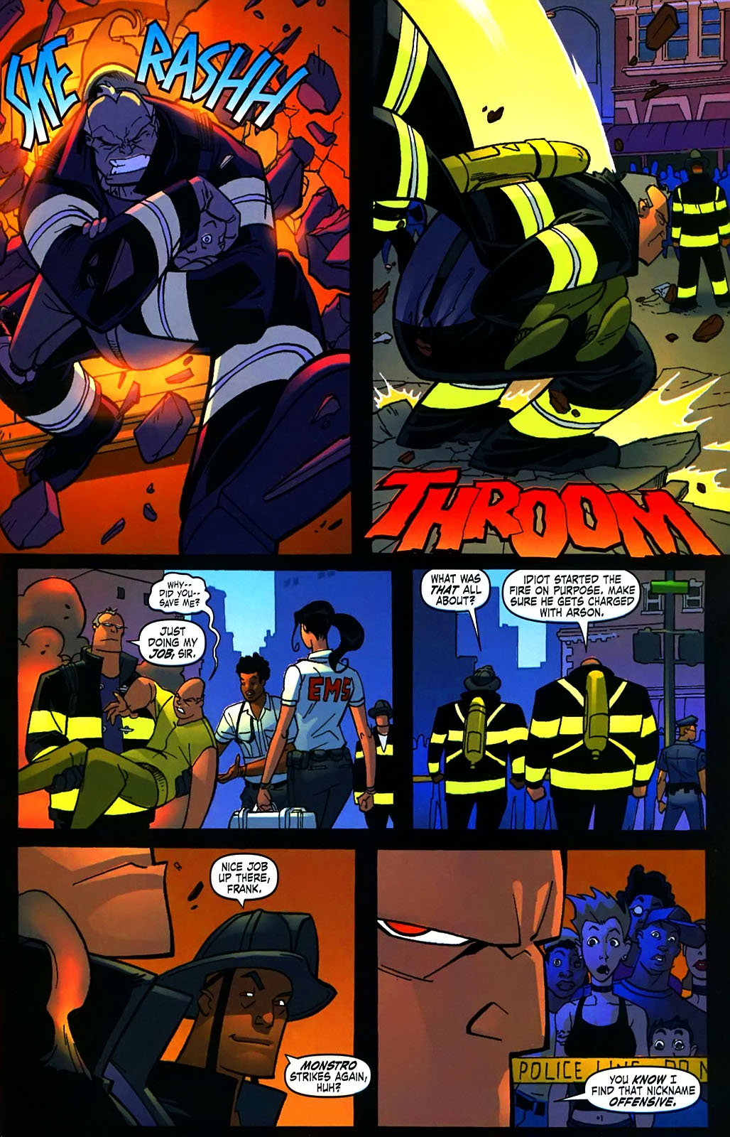 Read online Amazing Fantasy (2004) comic -  Issue #15 - 28