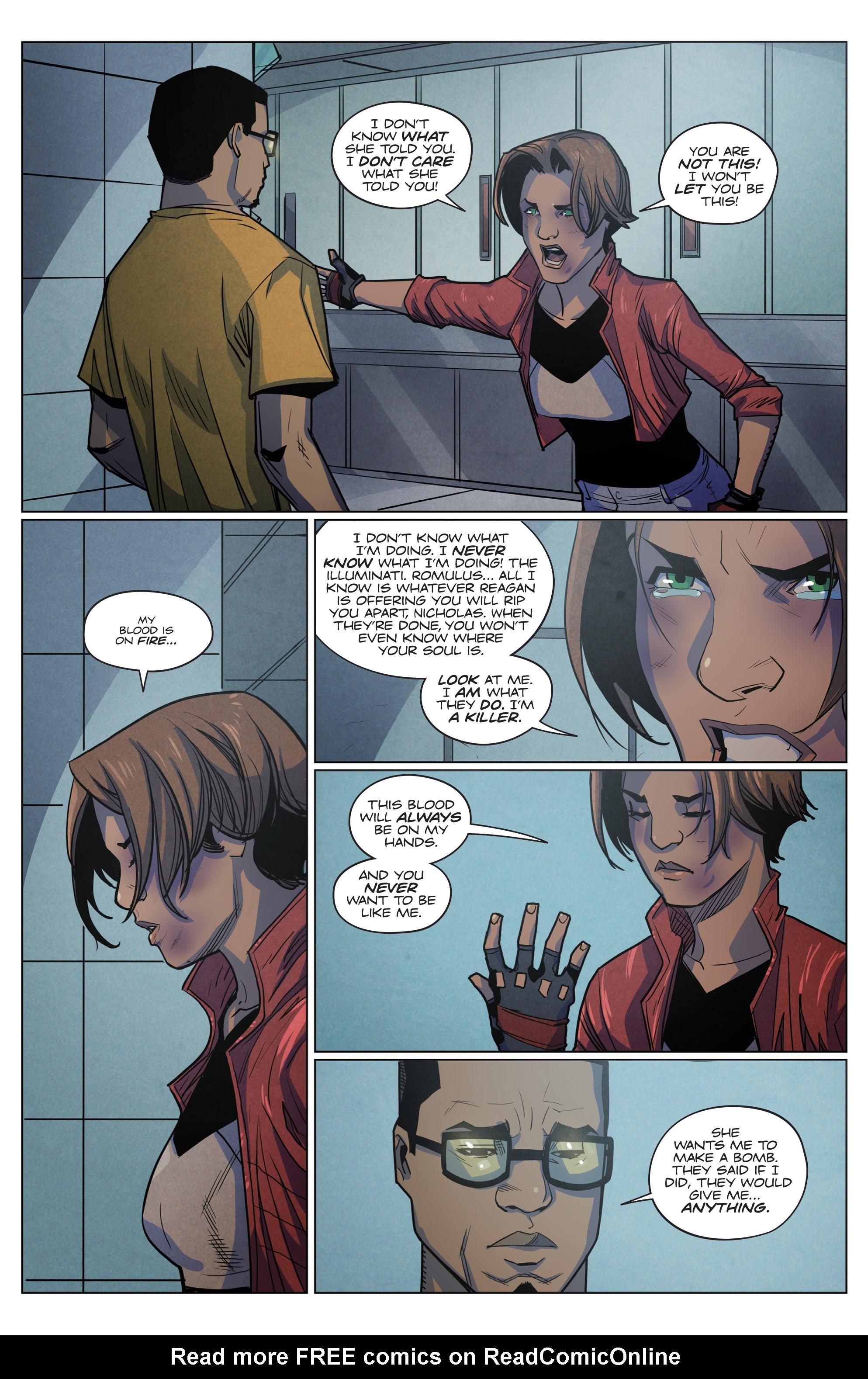 Read online Romulus comic -  Issue #4 - 15