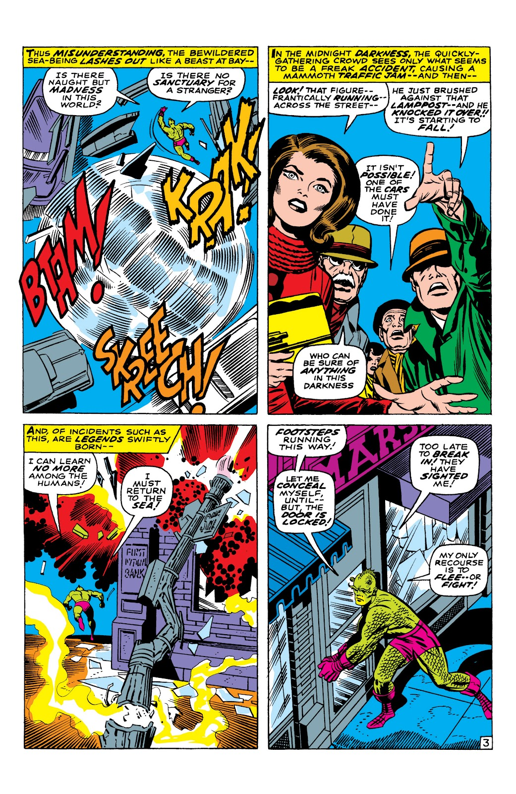 Read online Marvel Masterworks: The Inhumans comic -  Issue # TPB 1 (Part 1) - 40