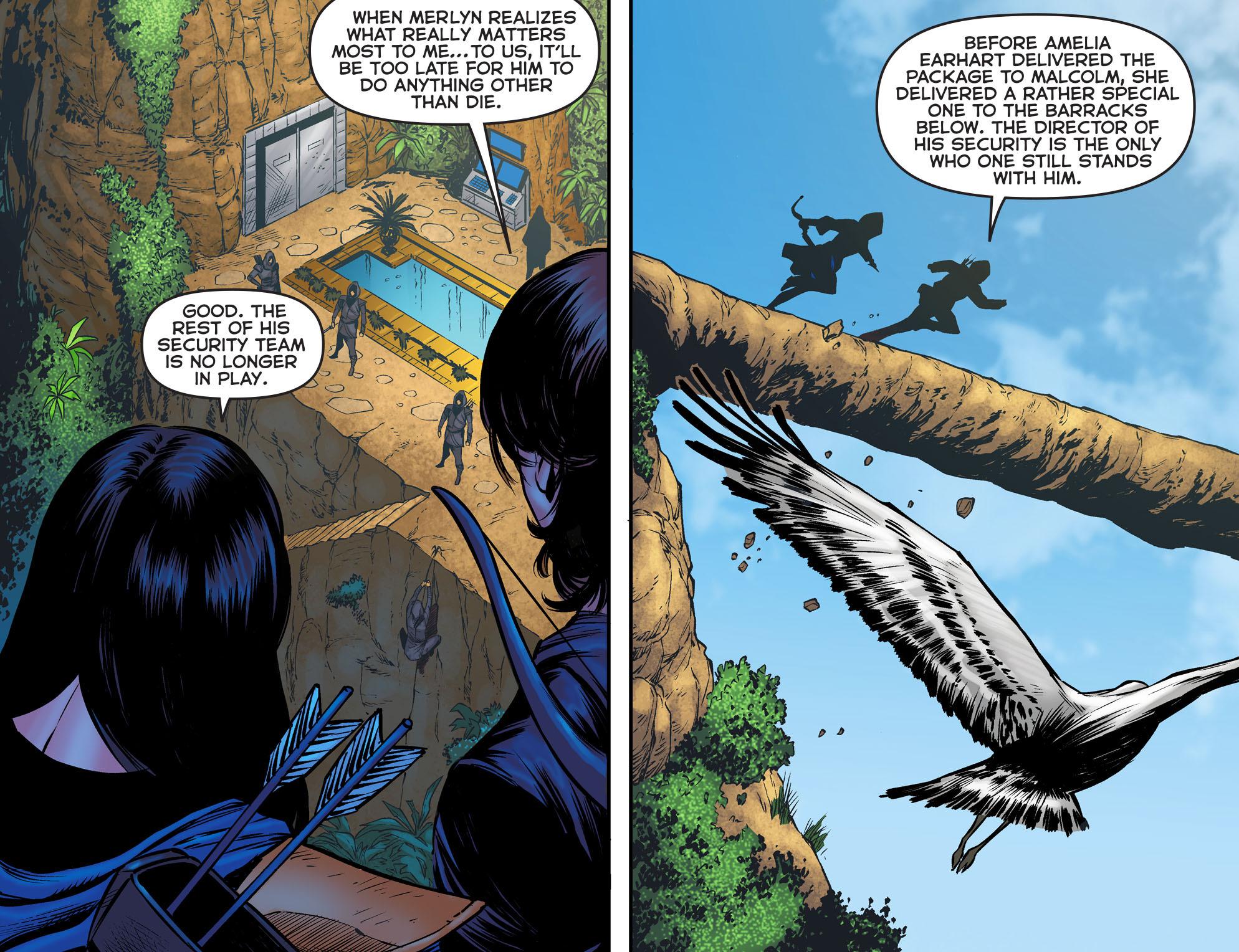 Read online Arrow: The Dark Archer comic -  Issue #2 - 8