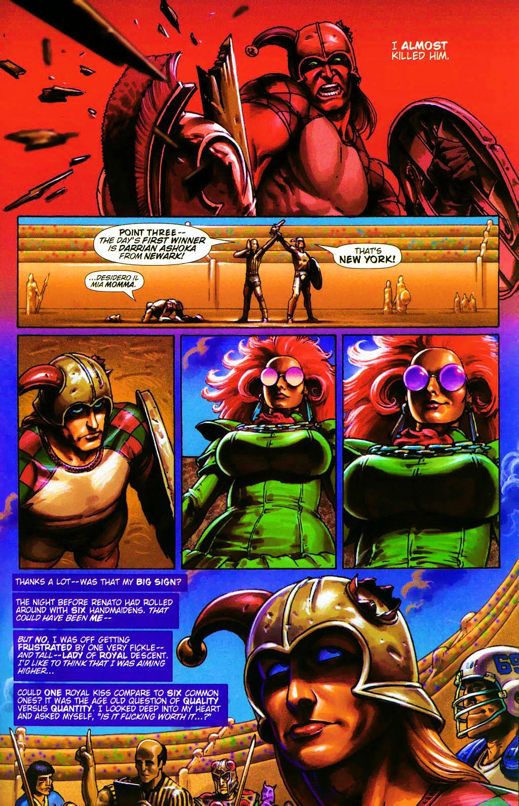 Read online Dawn: Three Tiers comic -  Issue #4 - 15