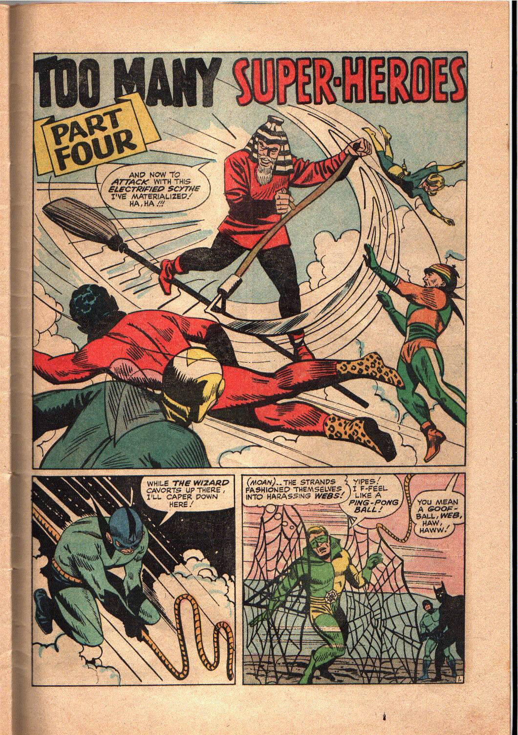 The Mighty Crusaders (1965) Issue #4 #4 - English 21