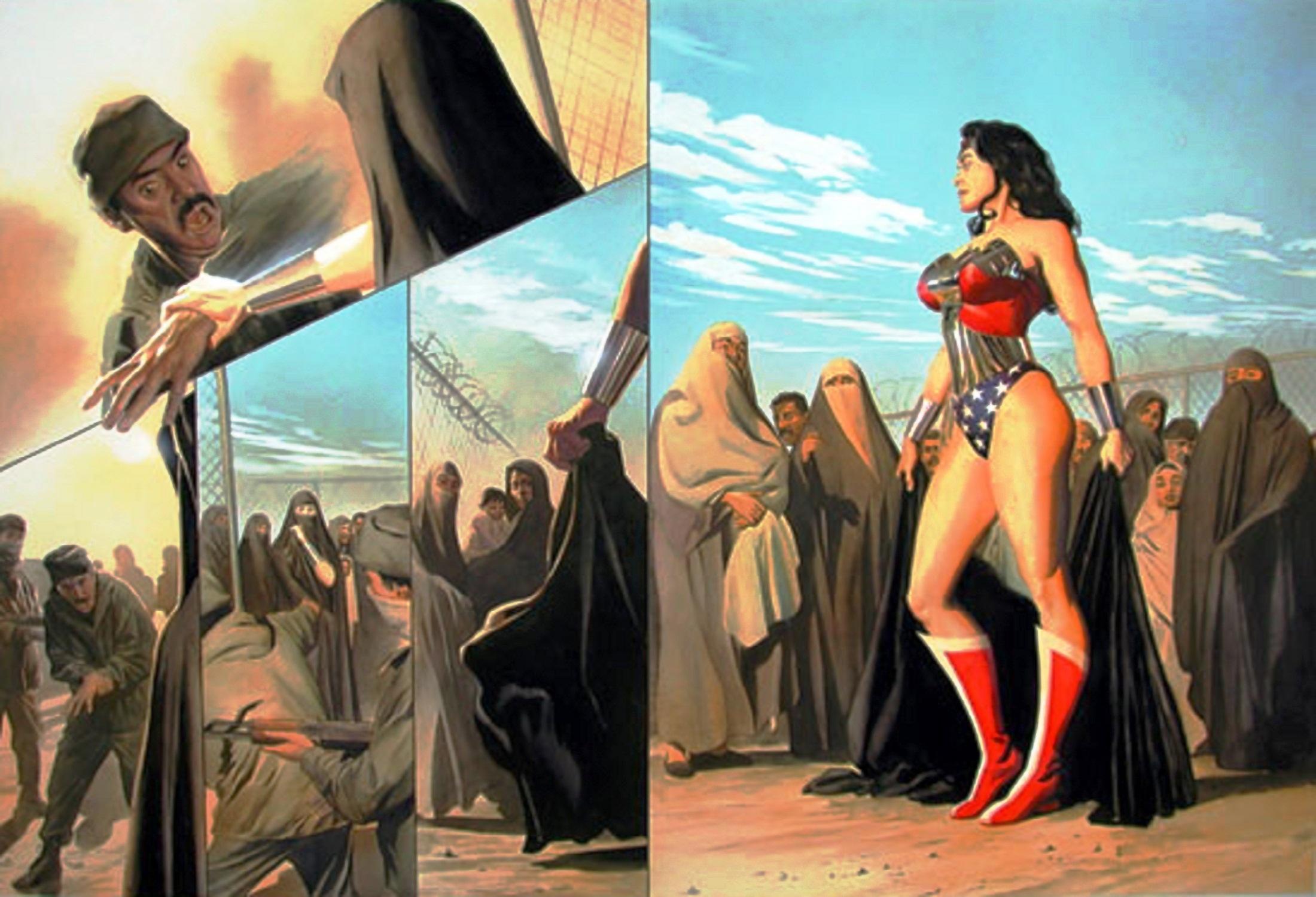 Read online Wonder Woman: Spirit of Truth comic -  Issue # Full - 62