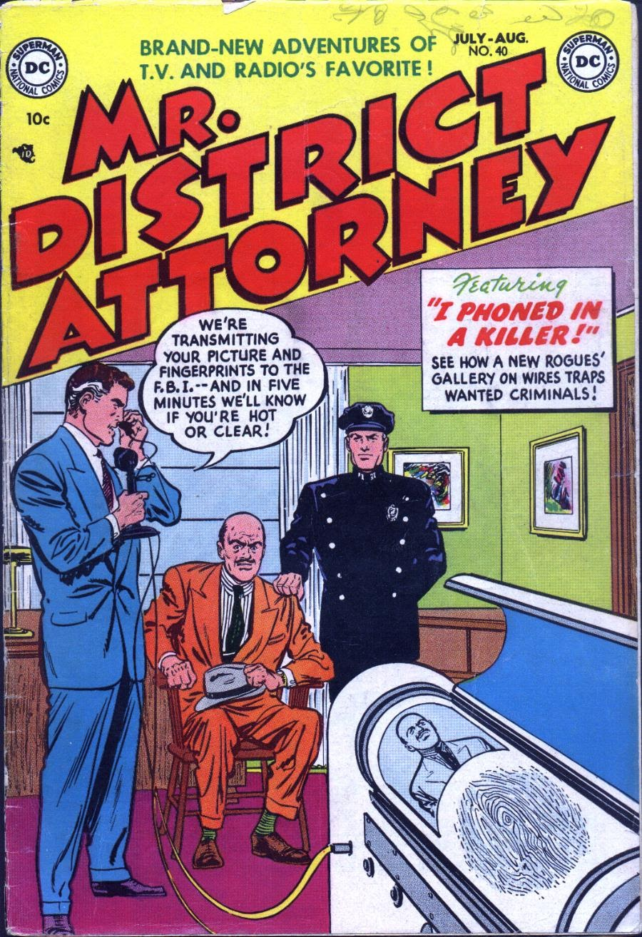 Mr. District Attorney issue 40 - Page 1