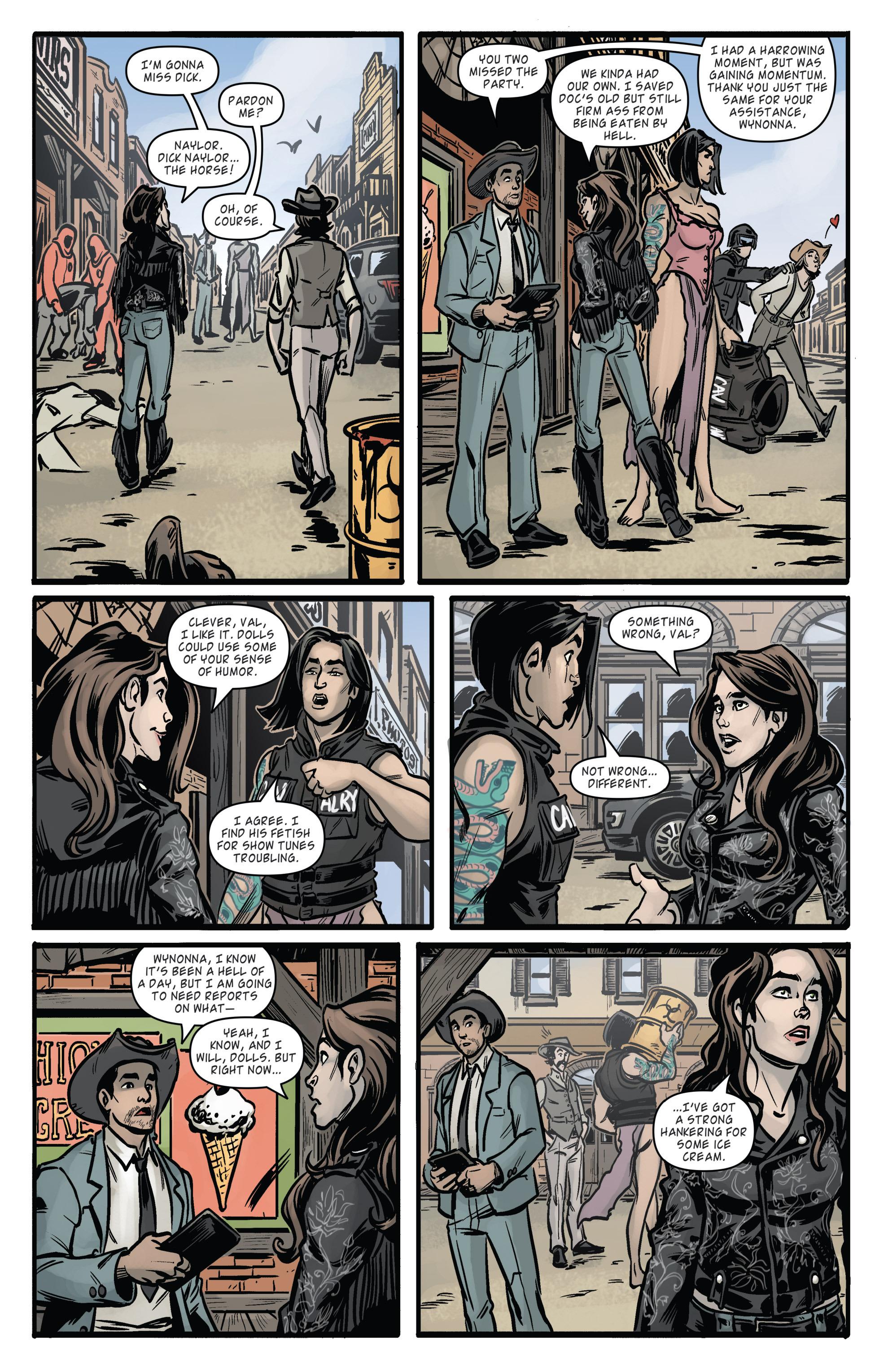 Read online Wynonna Earp (2016) comic -  Issue #6 - 21