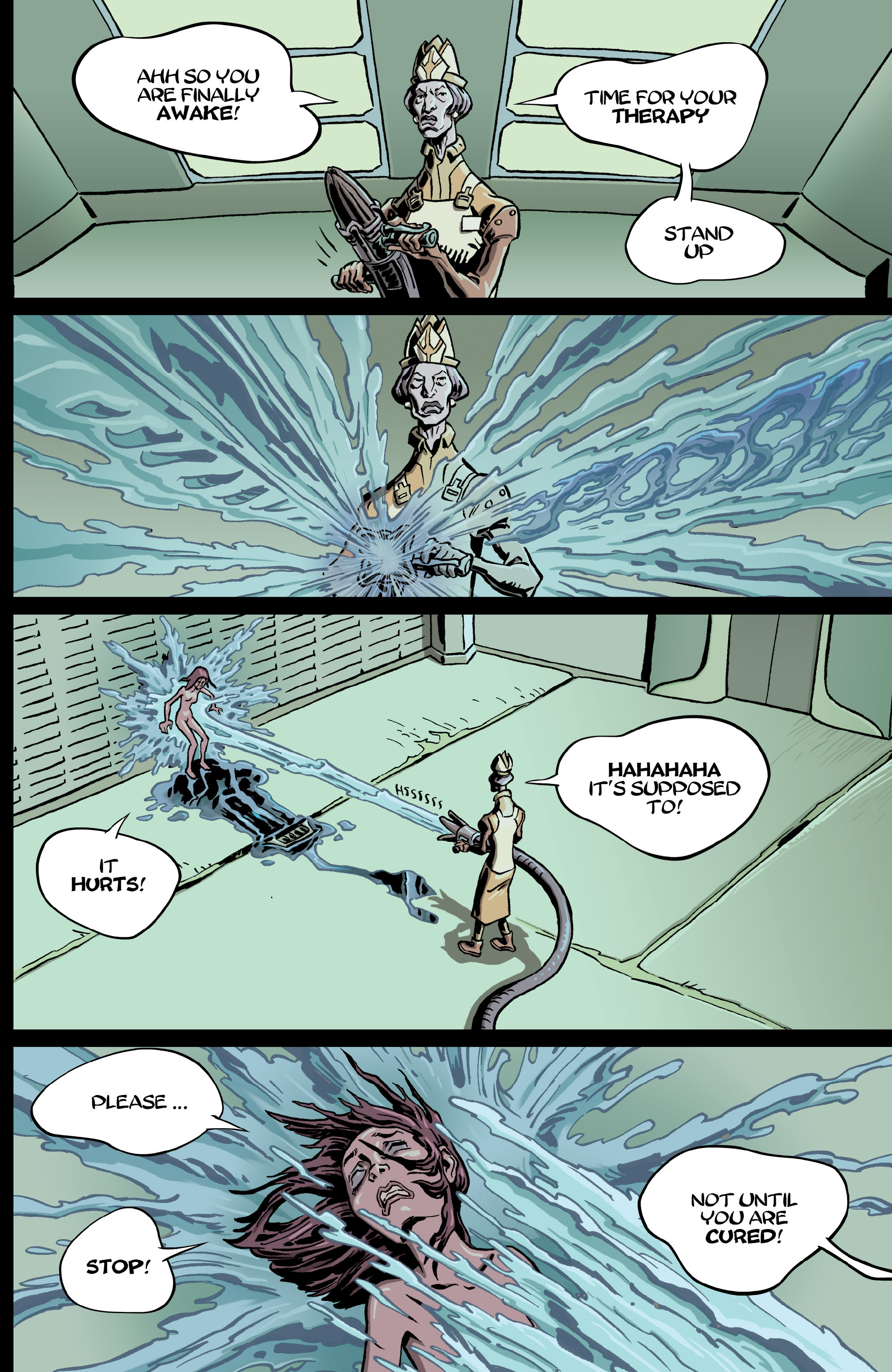Read online 8House comic -  Issue #5 - 13