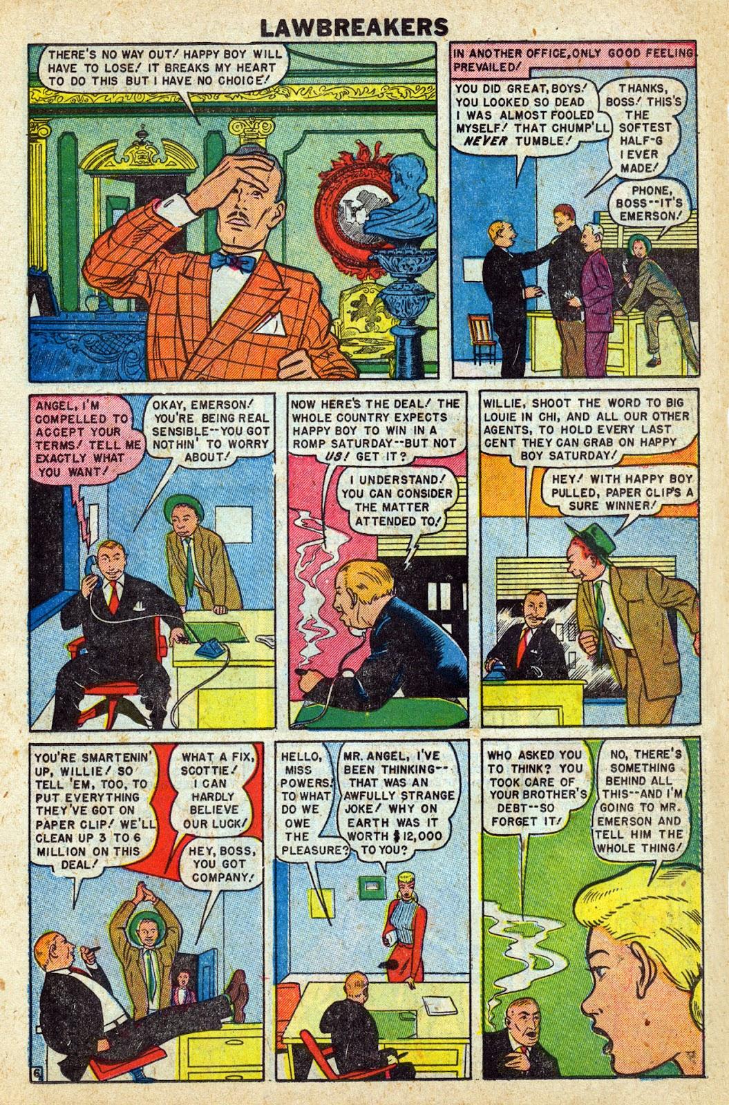 Lawbreakers Always Lose! issue 9 - Page 17