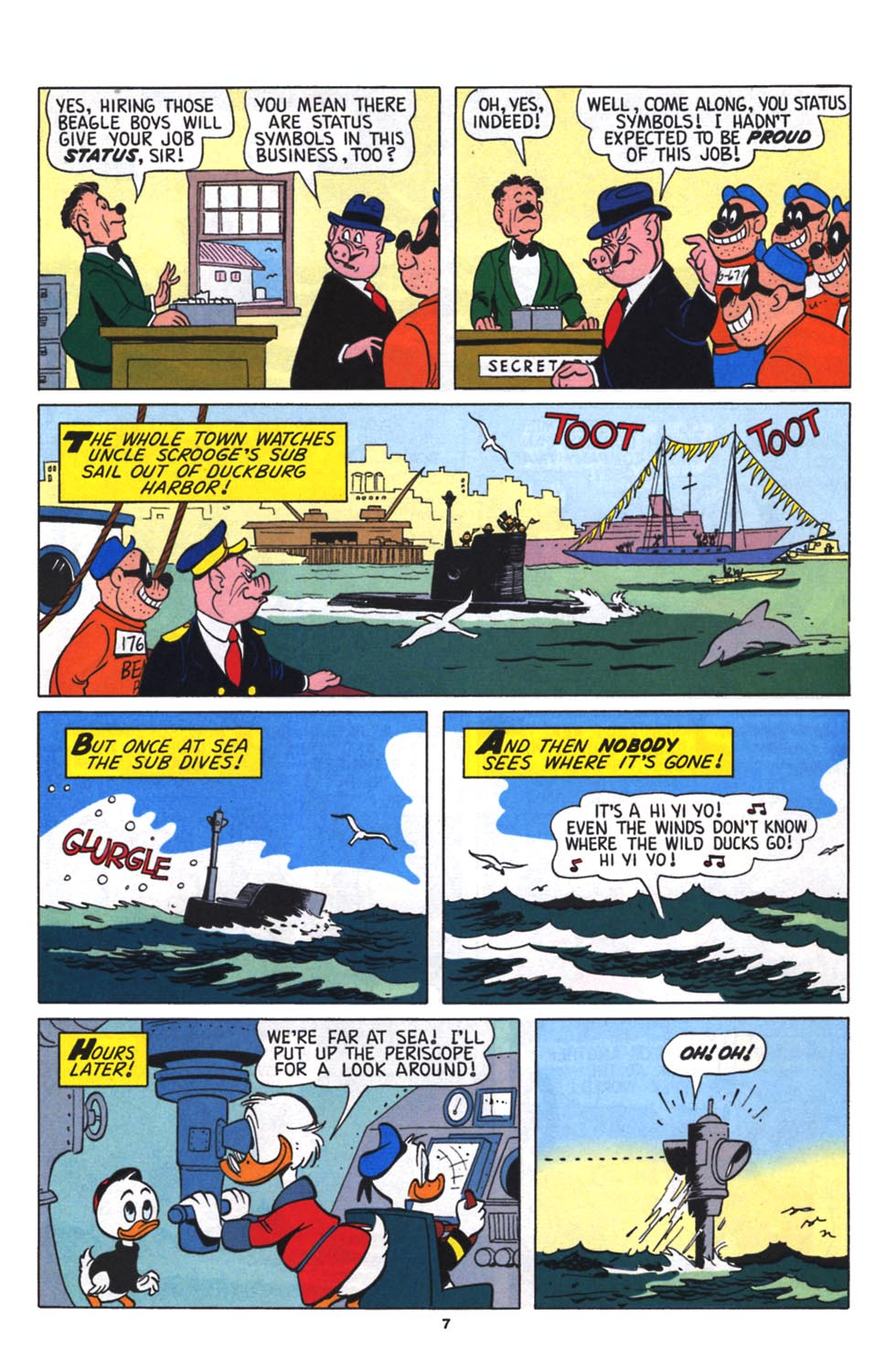 Read online Uncle Scrooge (1953) comic -  Issue #256 - 8
