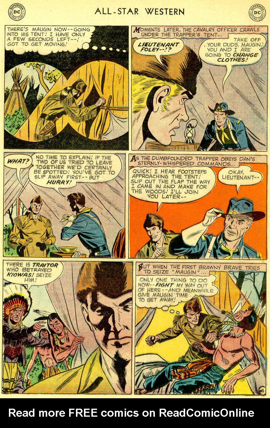 Read online All-Star Western (1951) comic -  Issue #103 - 19