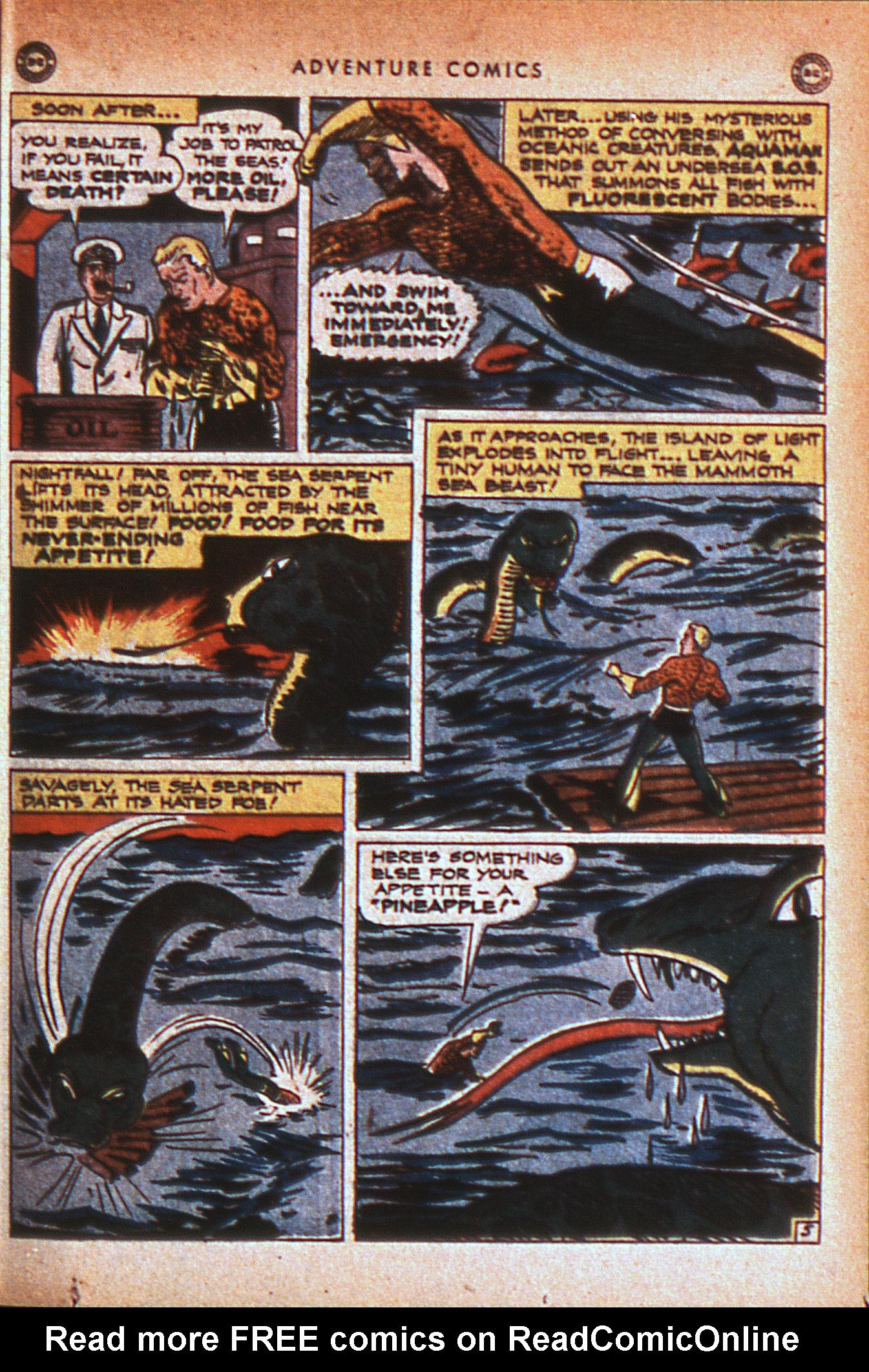 Read online Adventure Comics (1938) comic -  Issue #124 - 38
