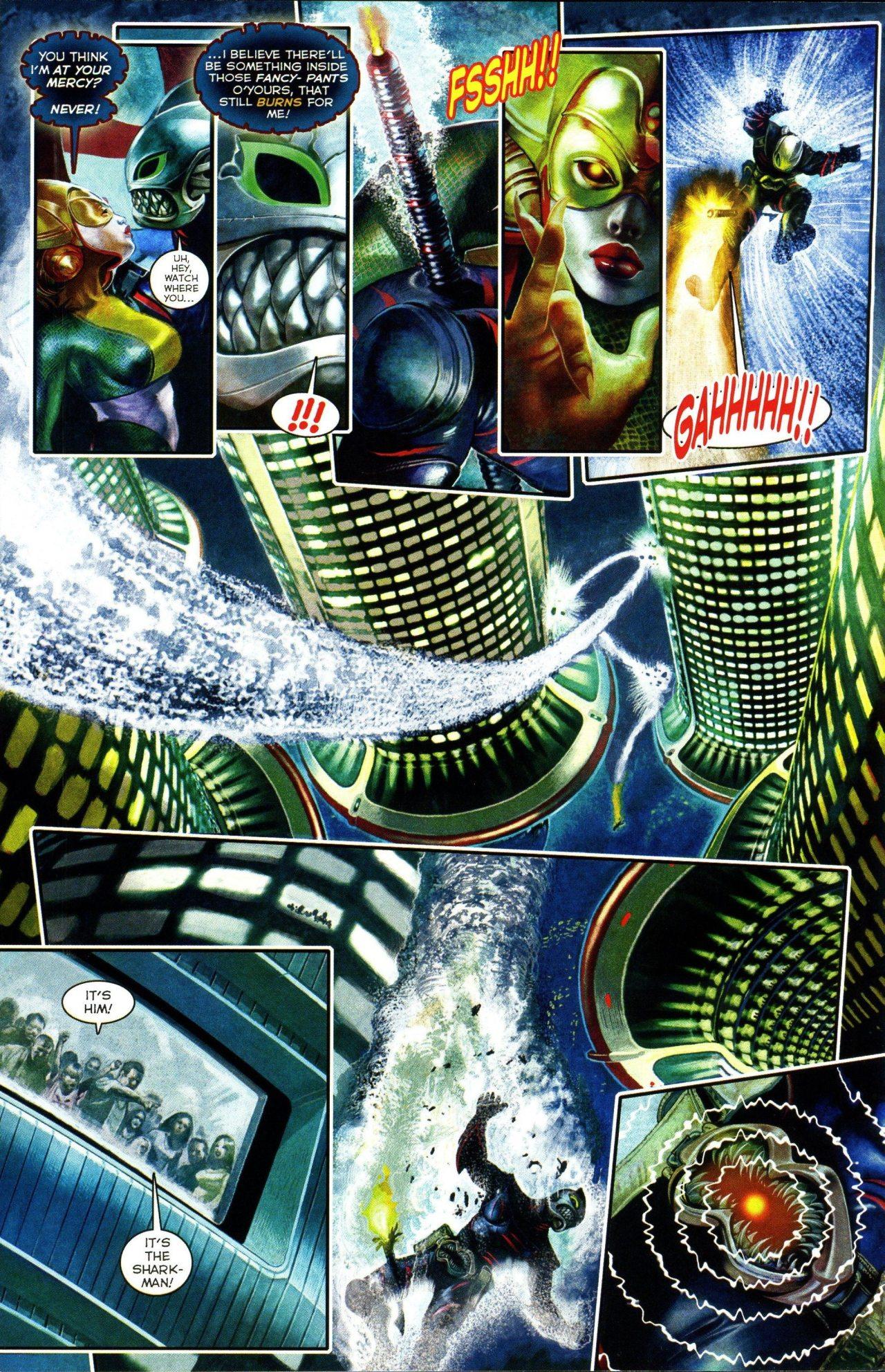 Read online Shark-Man comic -  Issue #3 - 14