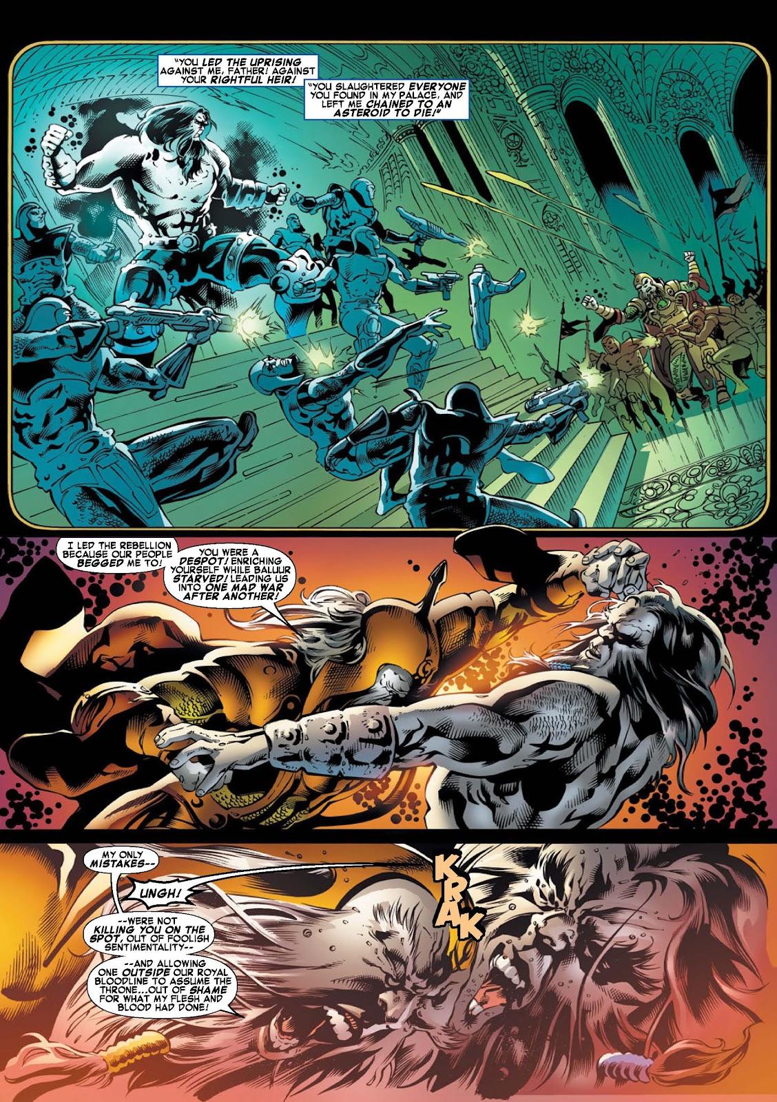 War of Kings: Warriors - Blastaar Issue #2 #2 - English 4
