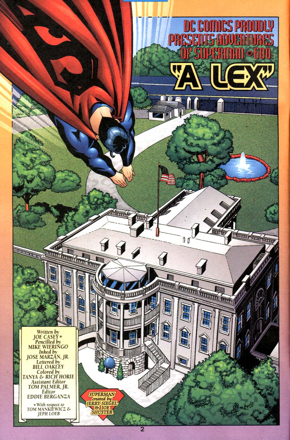 Read online Adventures of Superman (1987) comic -  Issue #600 - 3