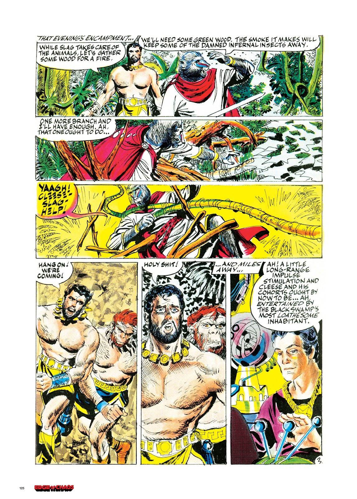 Read online Orion and Edge of Chaos comic -  Issue # TPB - 126