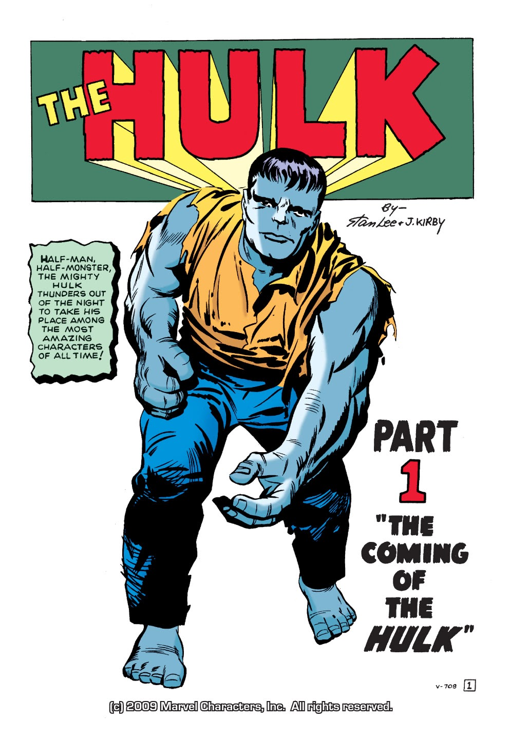 Read online Marvel Masterworks: The Incredible Hulk comic -  Issue # TPB 1 (Part 1) - 4
