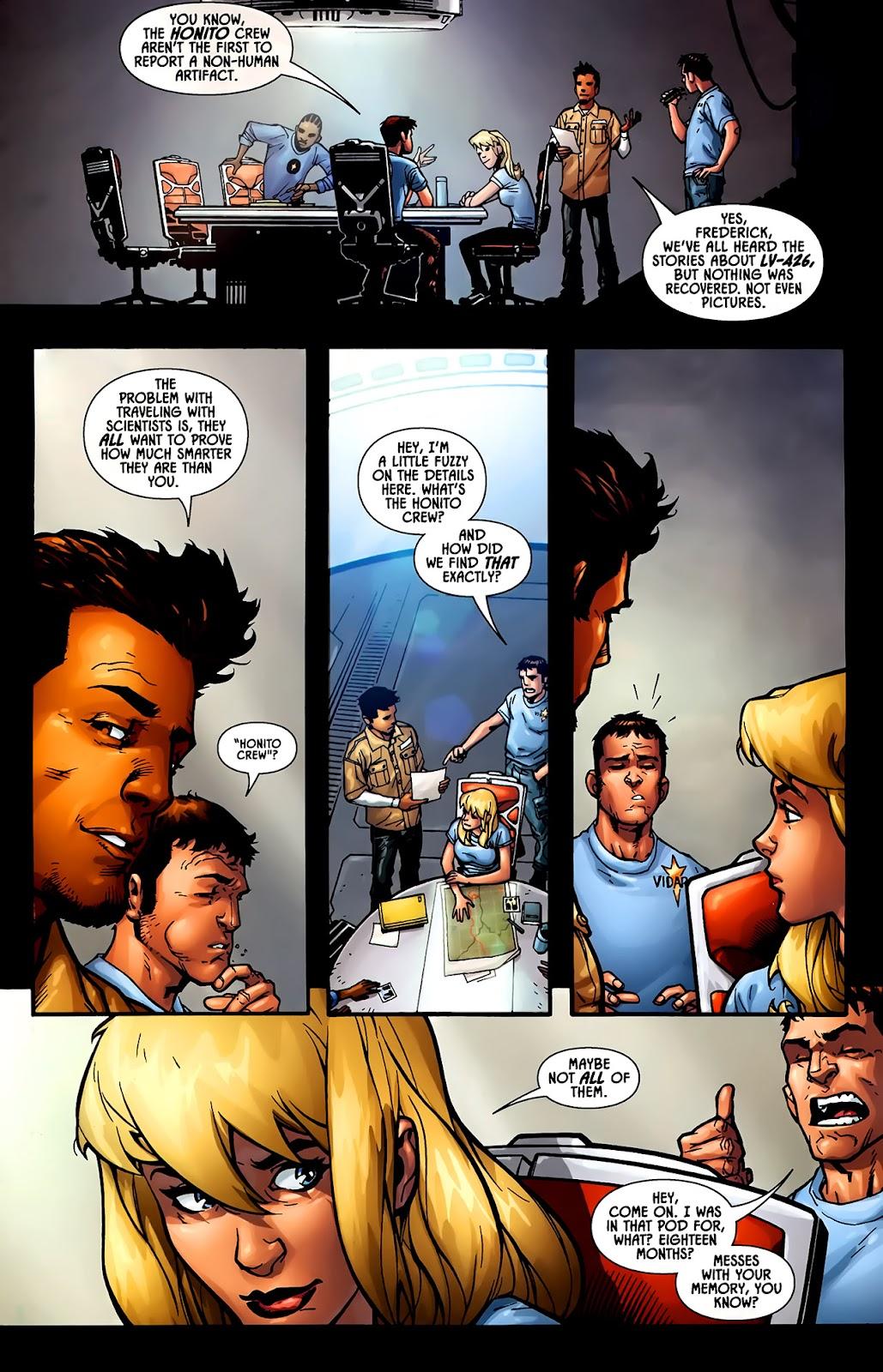 Read online Aliens (2009) comic -  Issue #1 - 11
